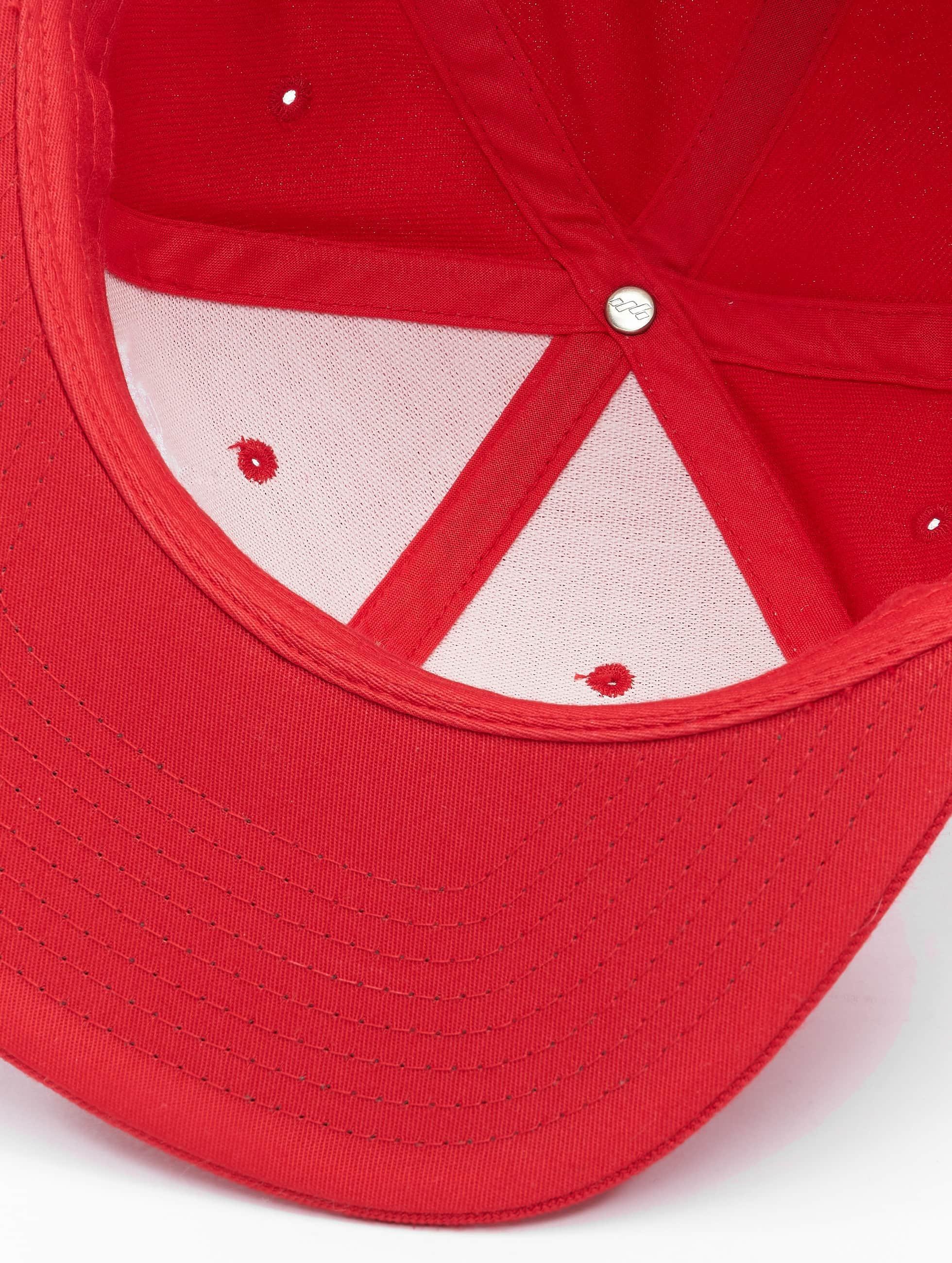 Merchcode Snapback Caps Coca Cola Logo rød