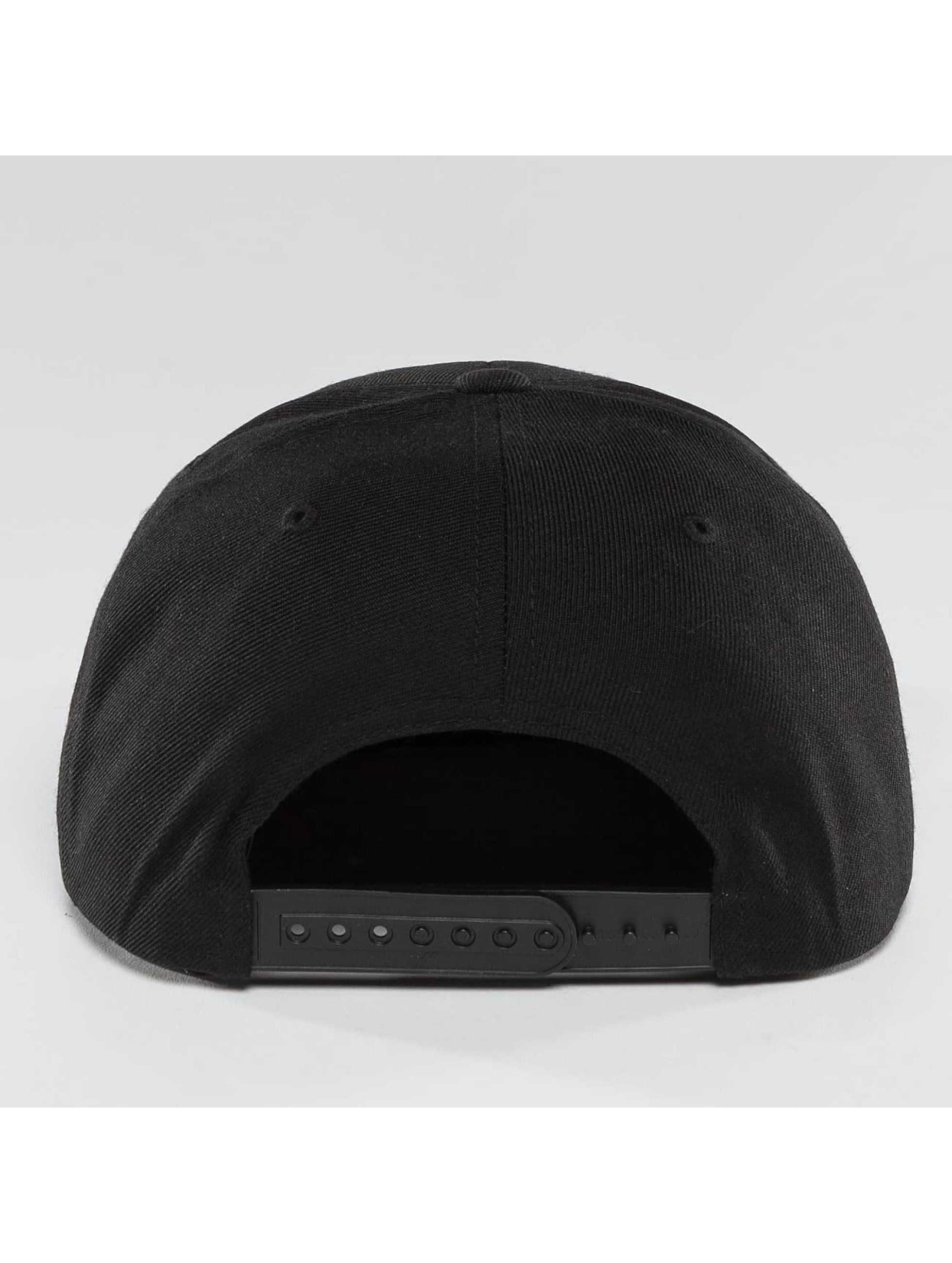 Merchcode Snapback Caps MTV Quilt svart
