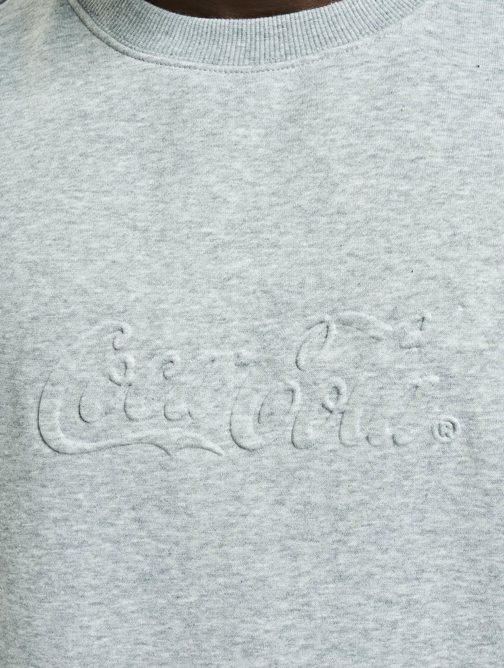 Merchcode Sweat & Pull Coca Cola Embossed gris
