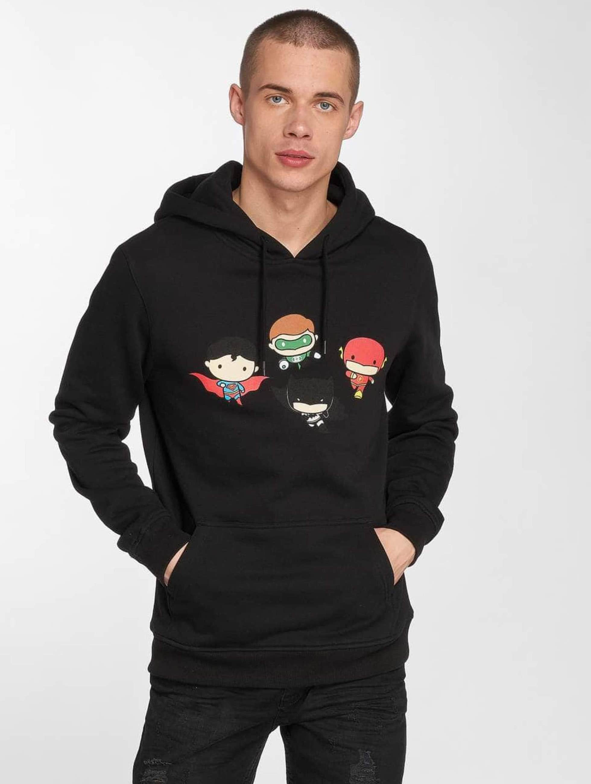 Merchcode Sweat capuche Justice League Comic noir