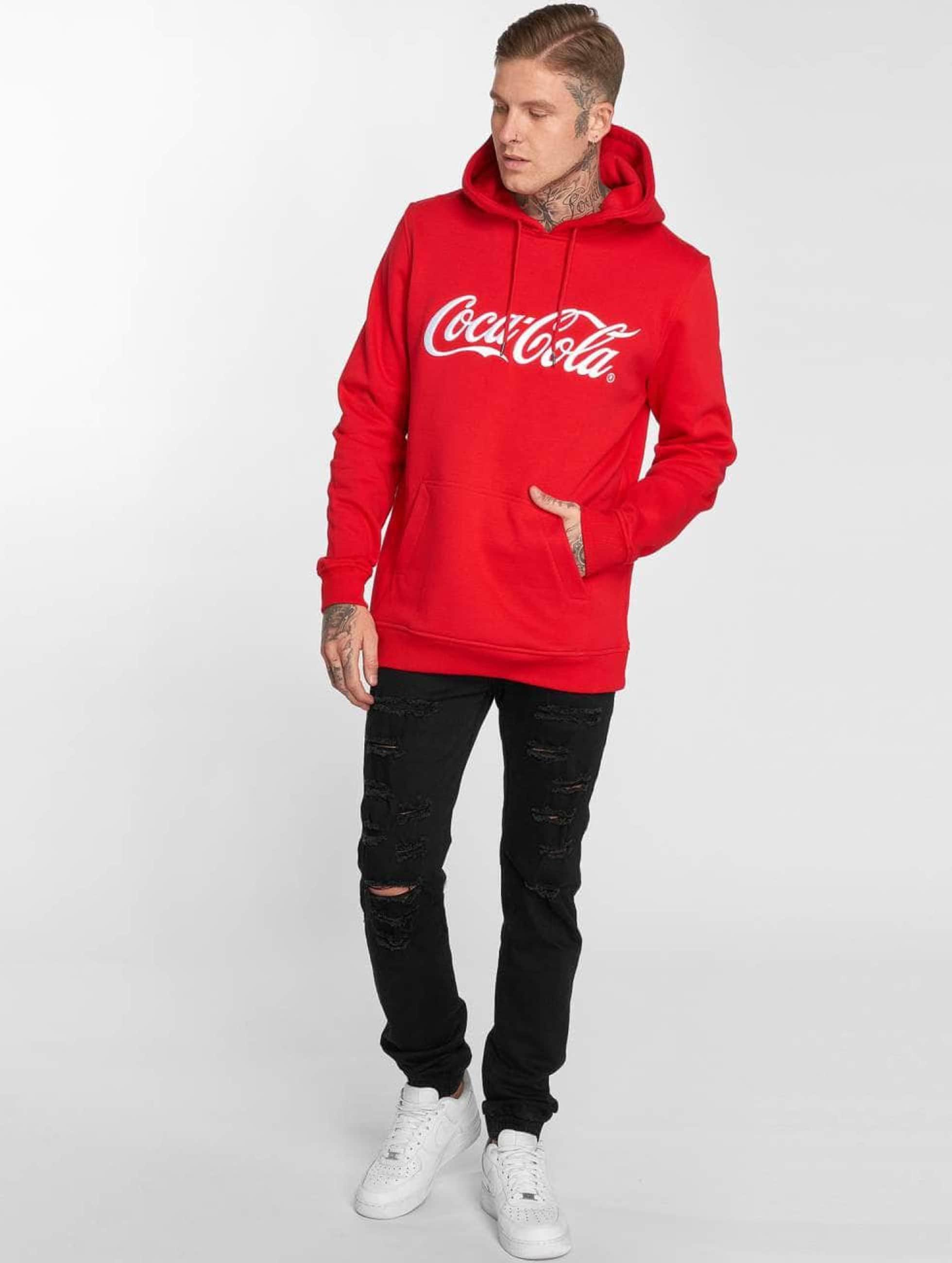 Merchcode Sweat capuche Coca Cola Classic rouge