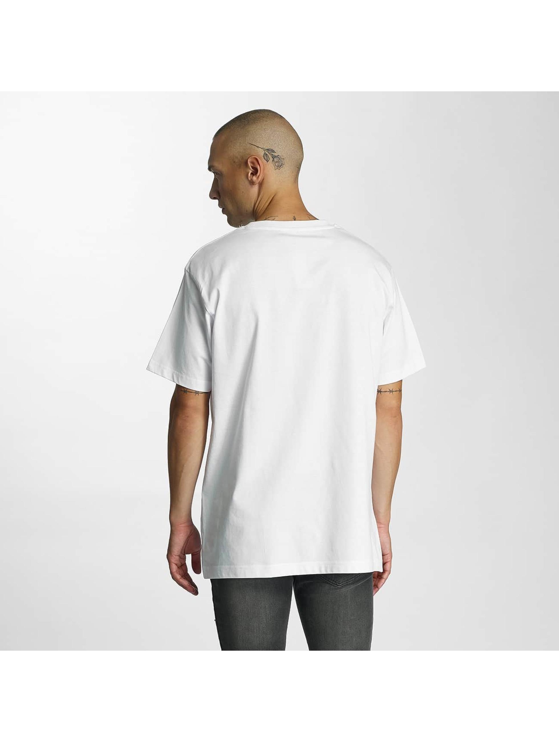 Merchcode T-paidat Banksy Anarchy valkoinen