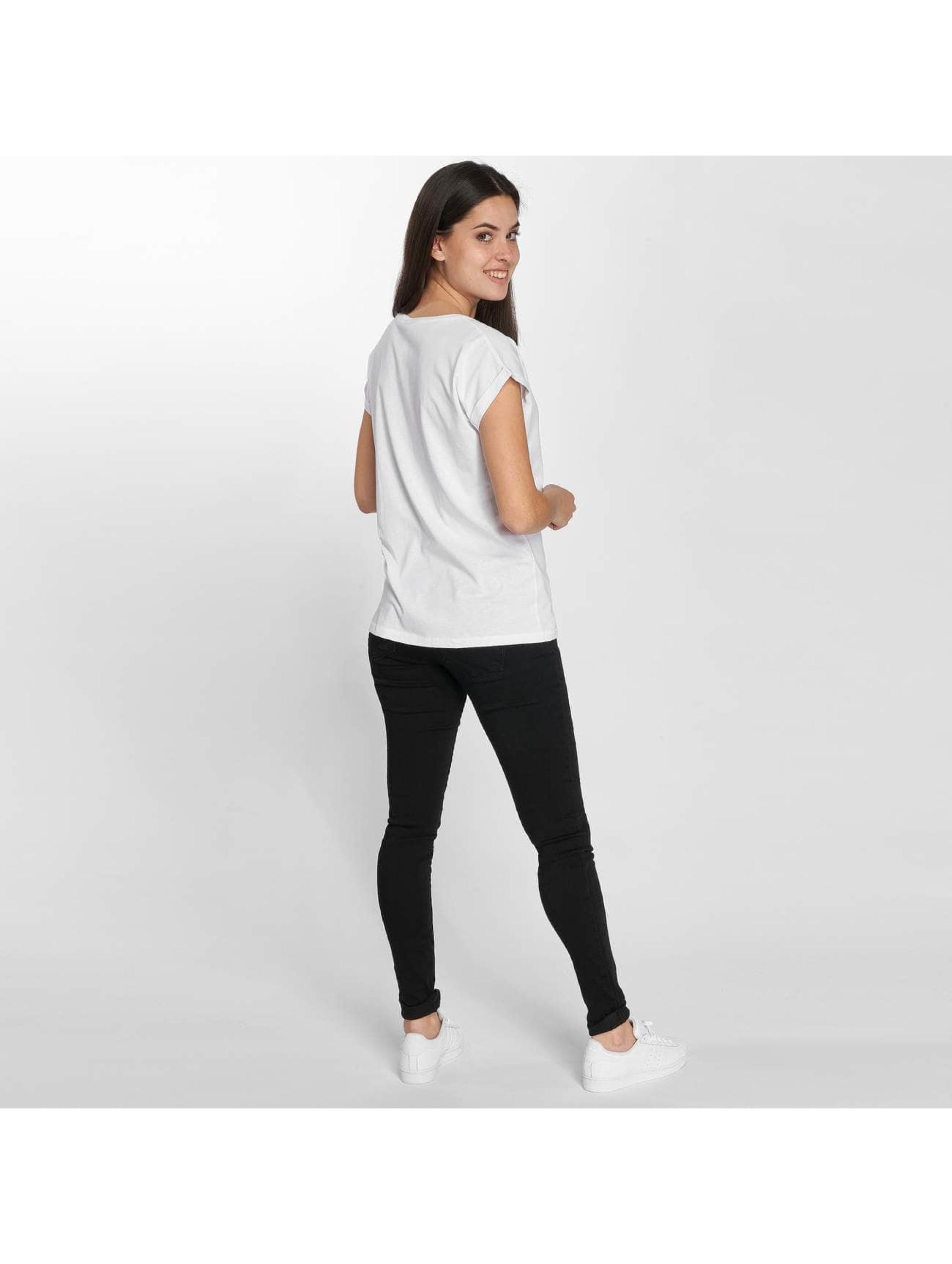 Merchcode T-paidat Betty Boop Red Dress valkoinen