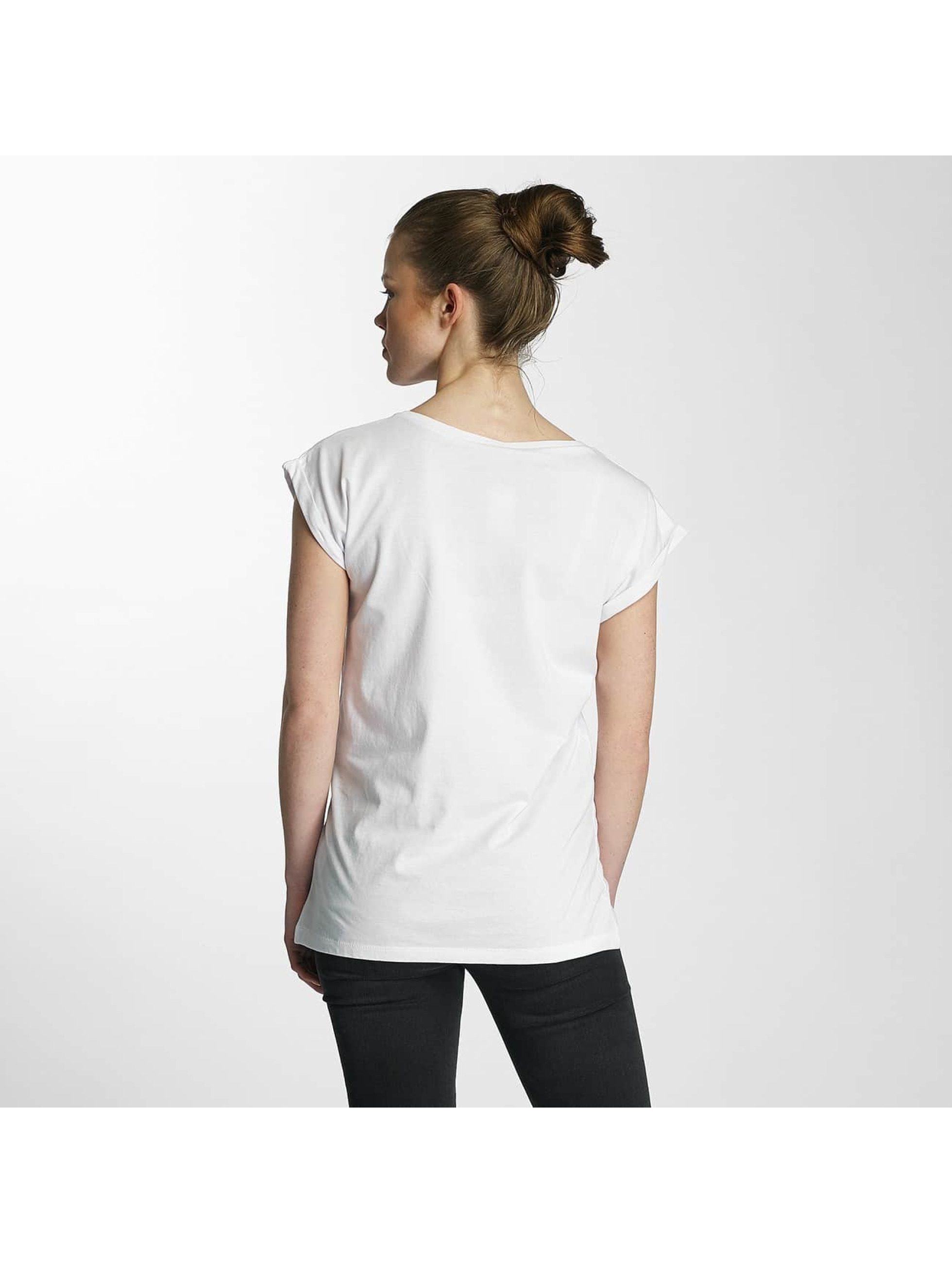 Merchcode T-shirt Ladies Banksy bianco