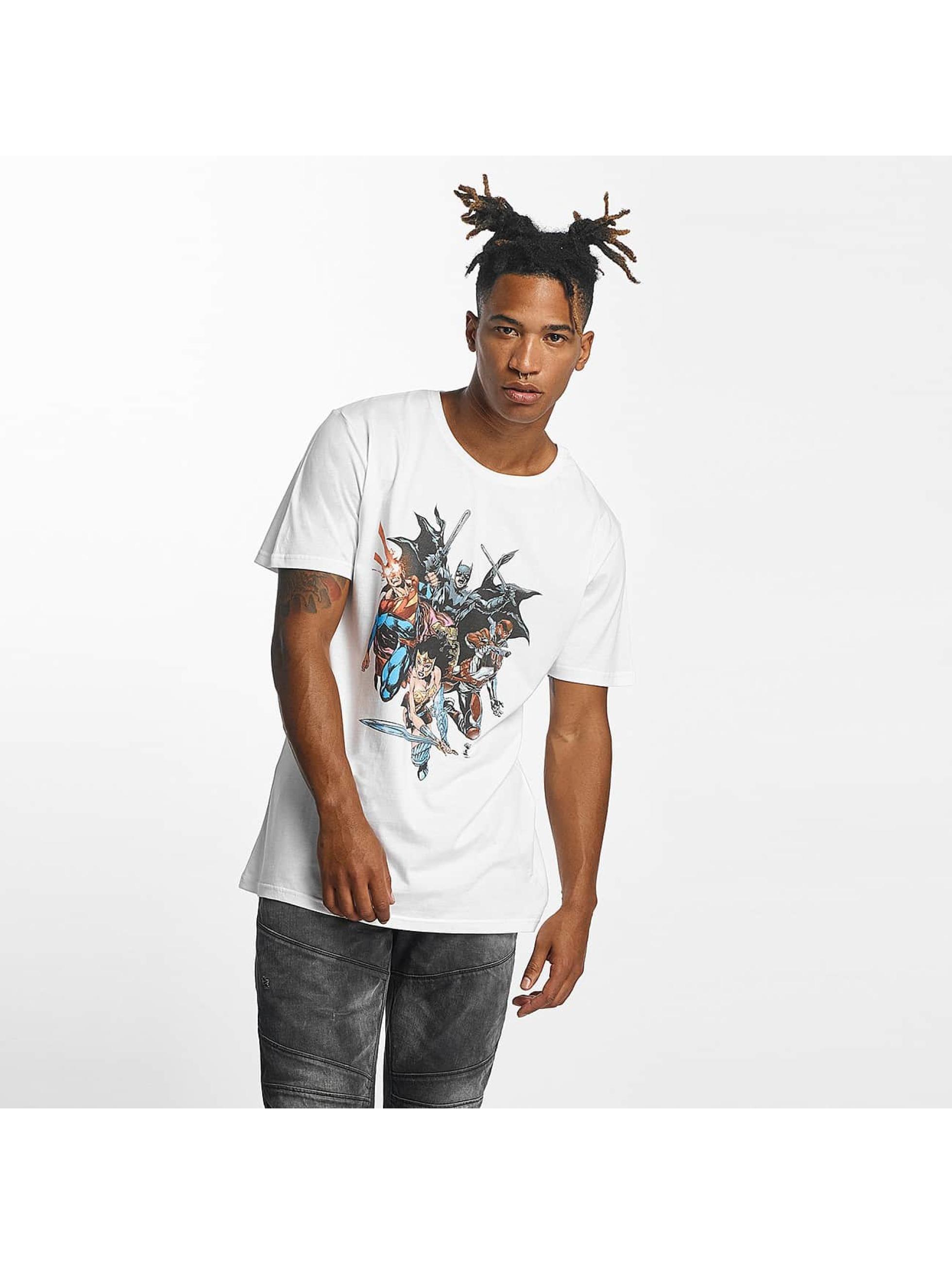 Merchcode T-shirt Justice League bianco