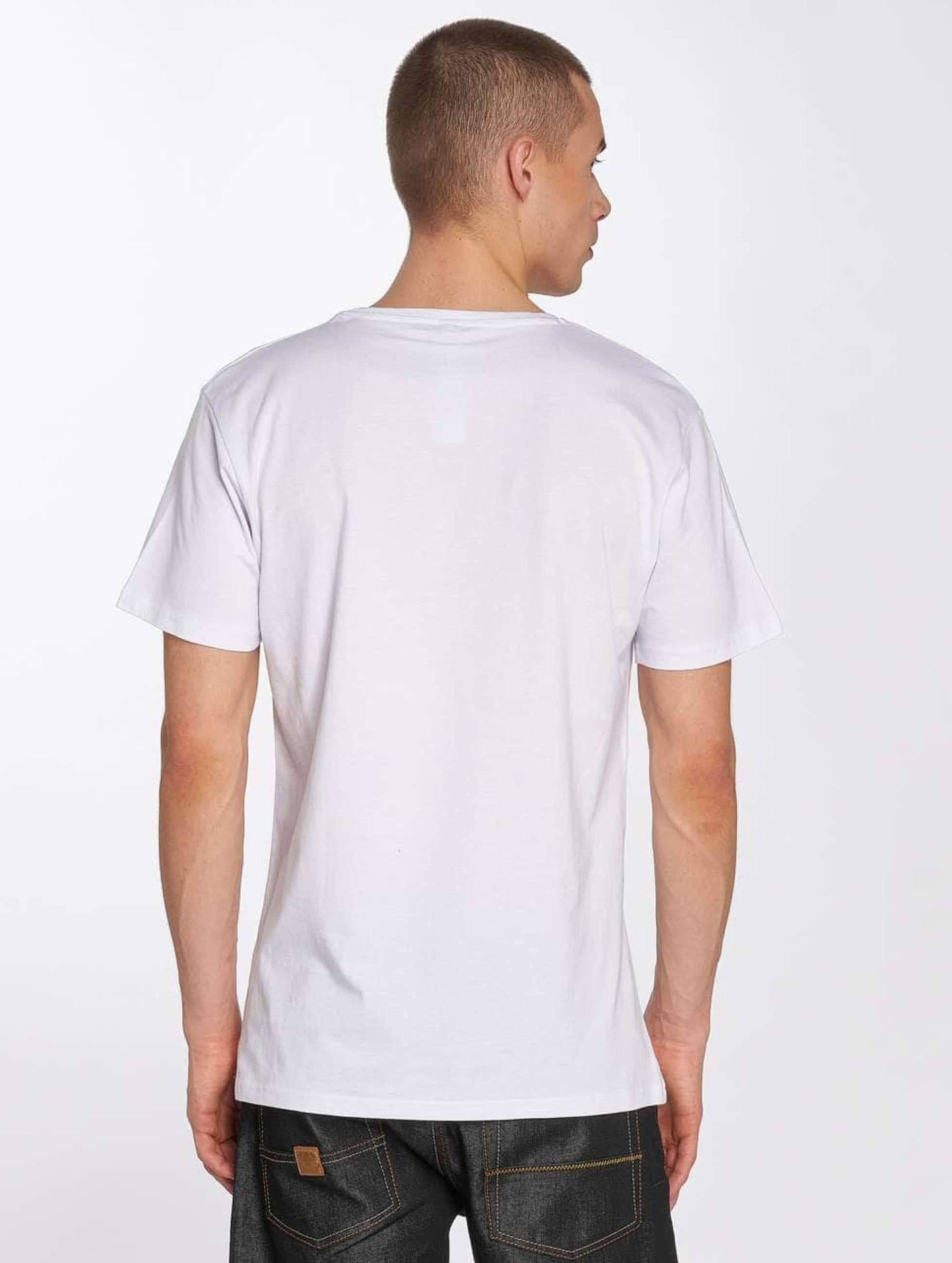 Merchcode T-shirt Hustler Box Logo bianco