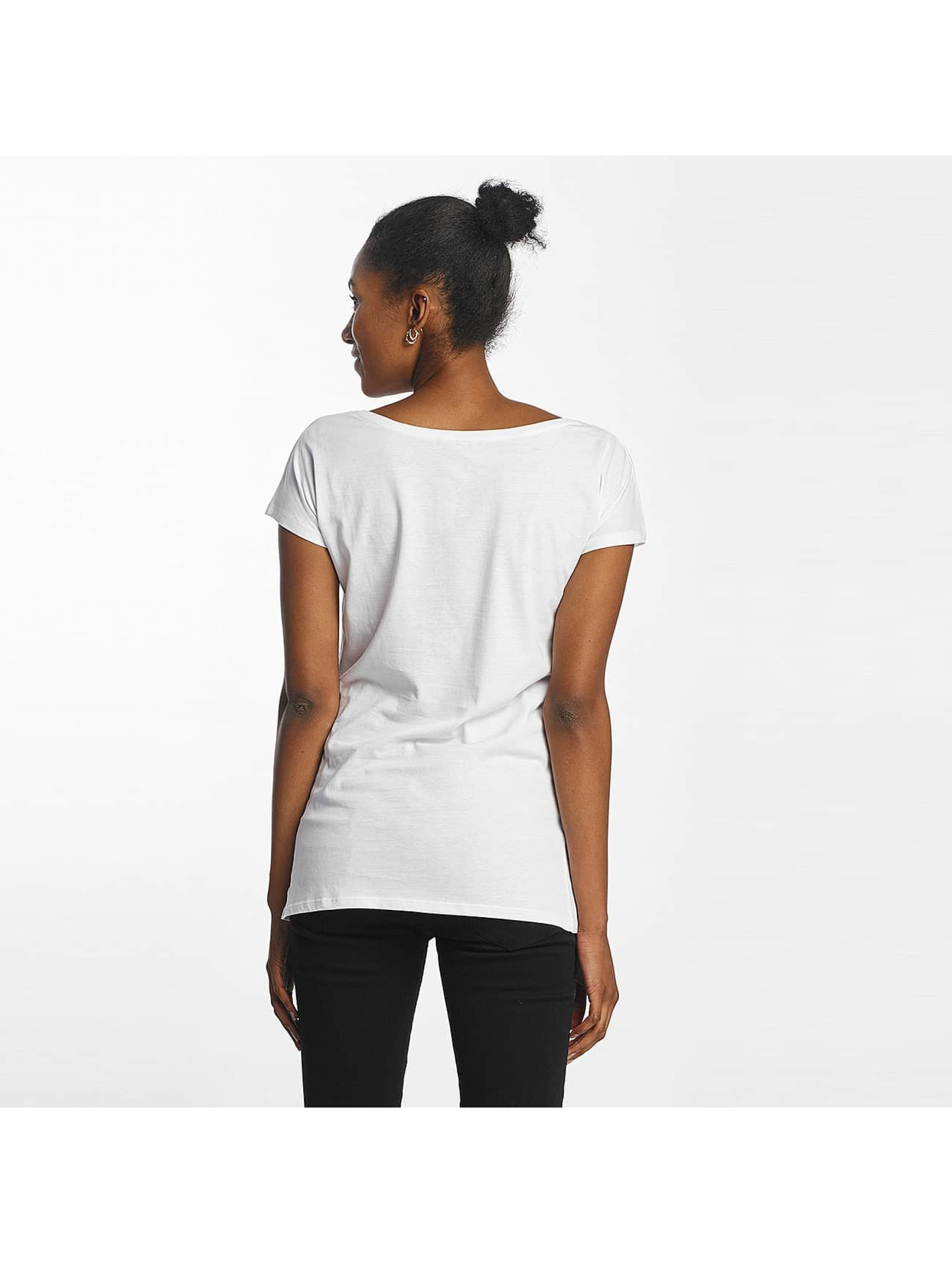 Merchcode T-Shirt Simpsons Donut blanc