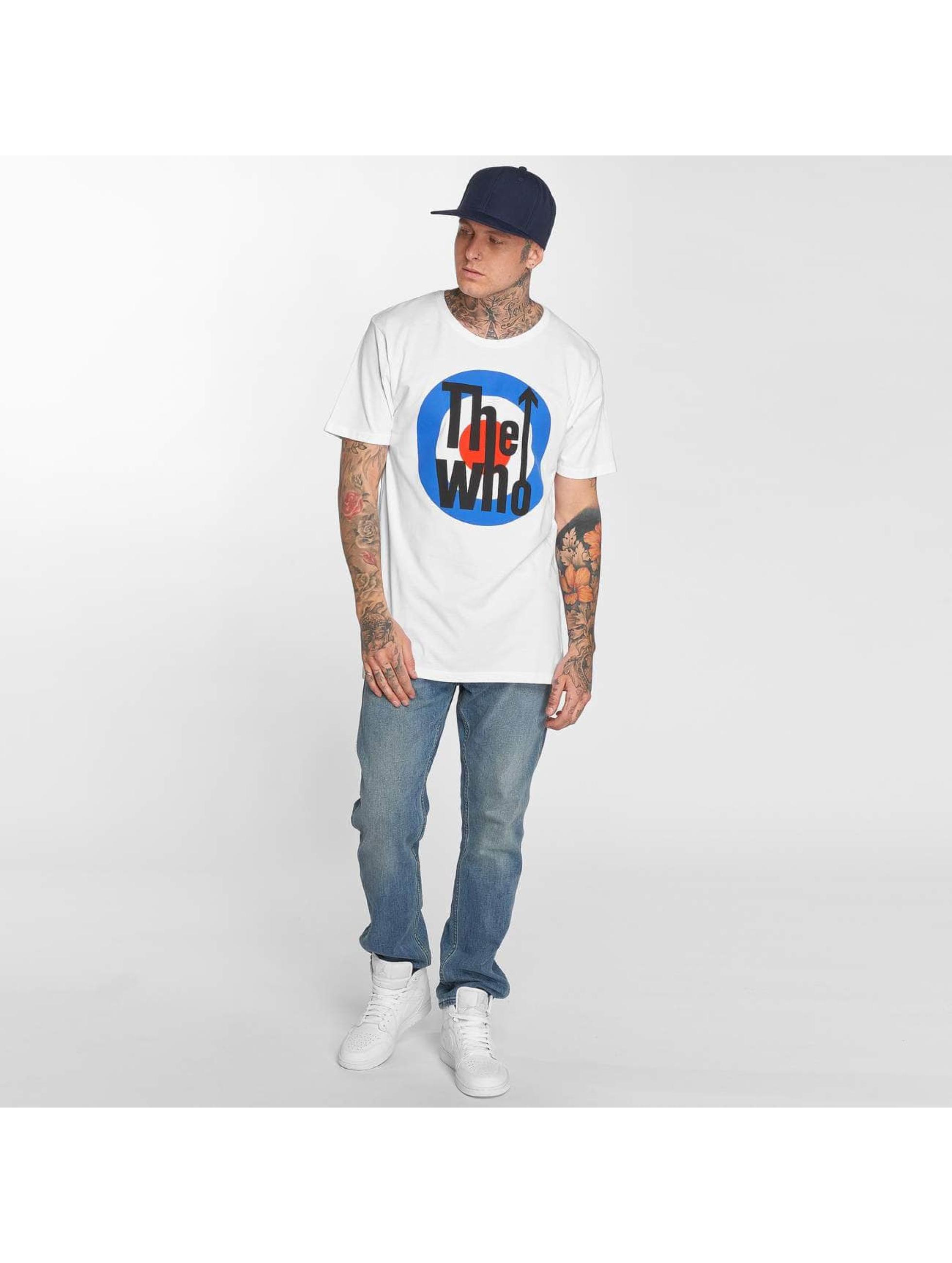 Merchcode T-Shirt The Who Classic Target blanc