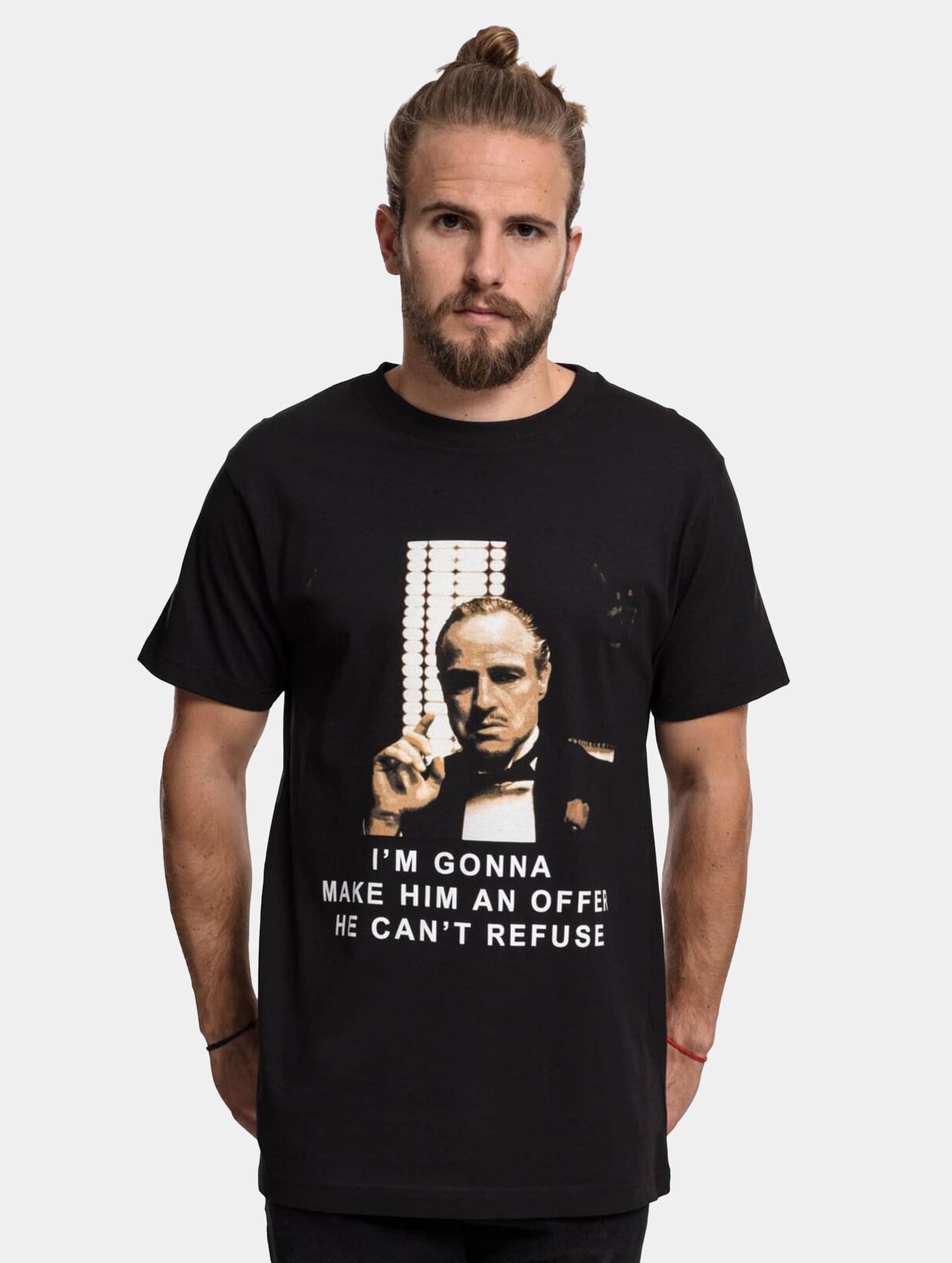 Merchcode T-shirt Godfather Refuse nero