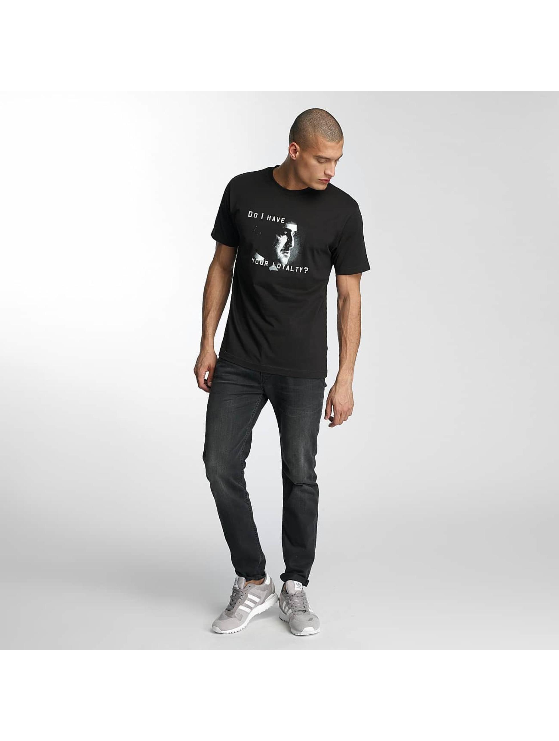 Merchcode T-Shirt Godfather Loyalty noir