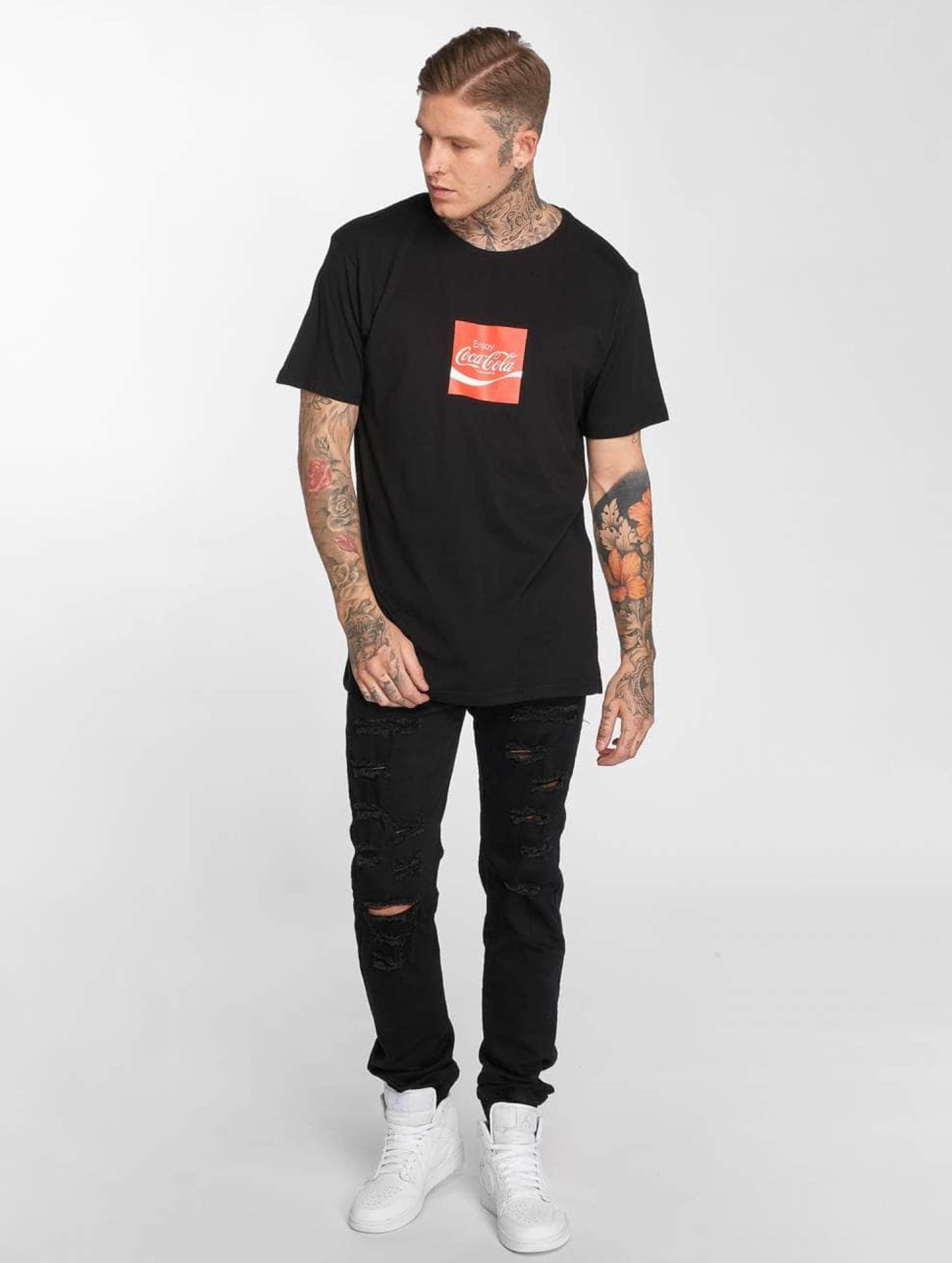 Merchcode T-Shirt Coca Cola Taste The Feeling noir