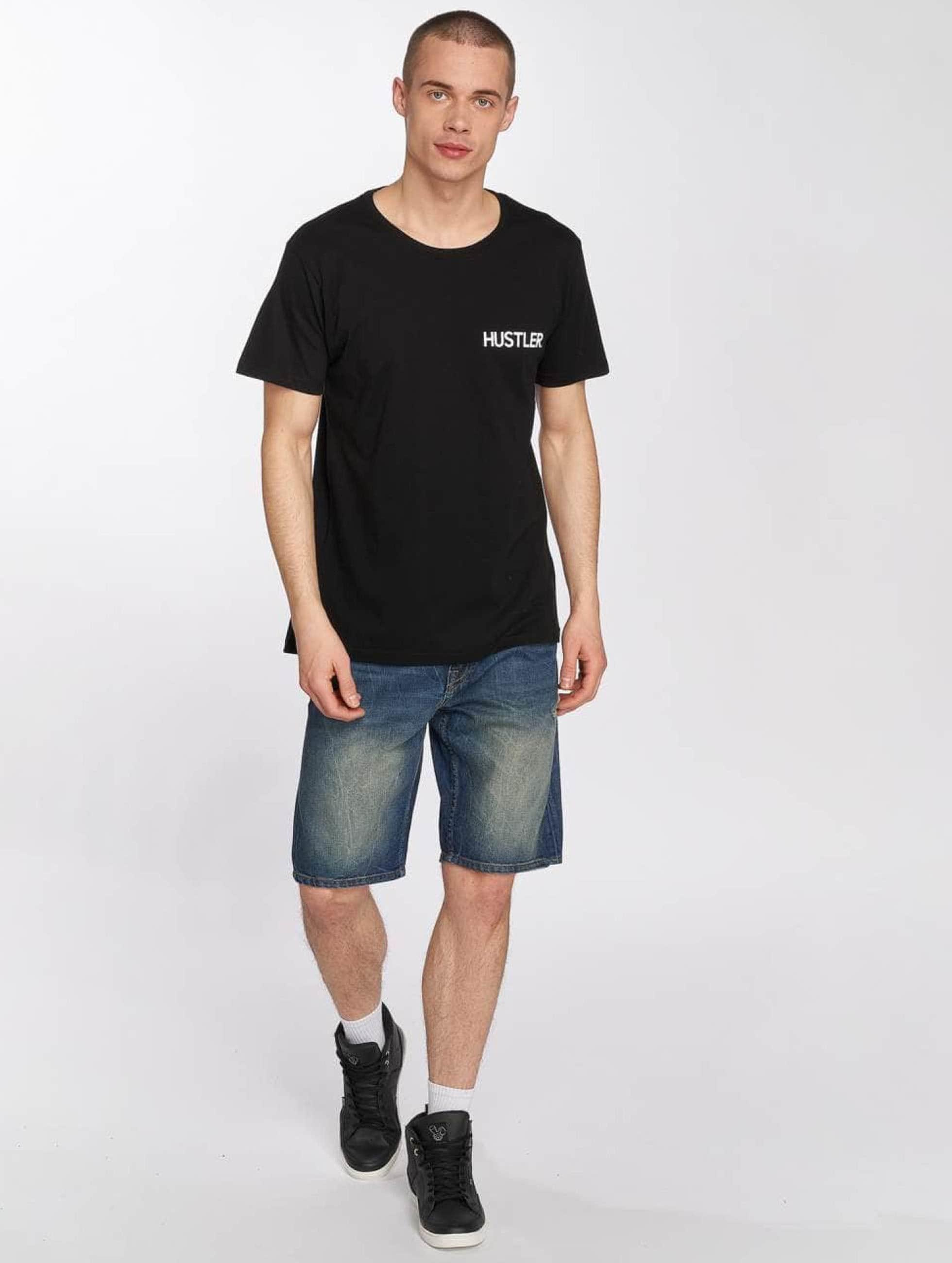 Merchcode T-Shirt Hustler Afterparty noir