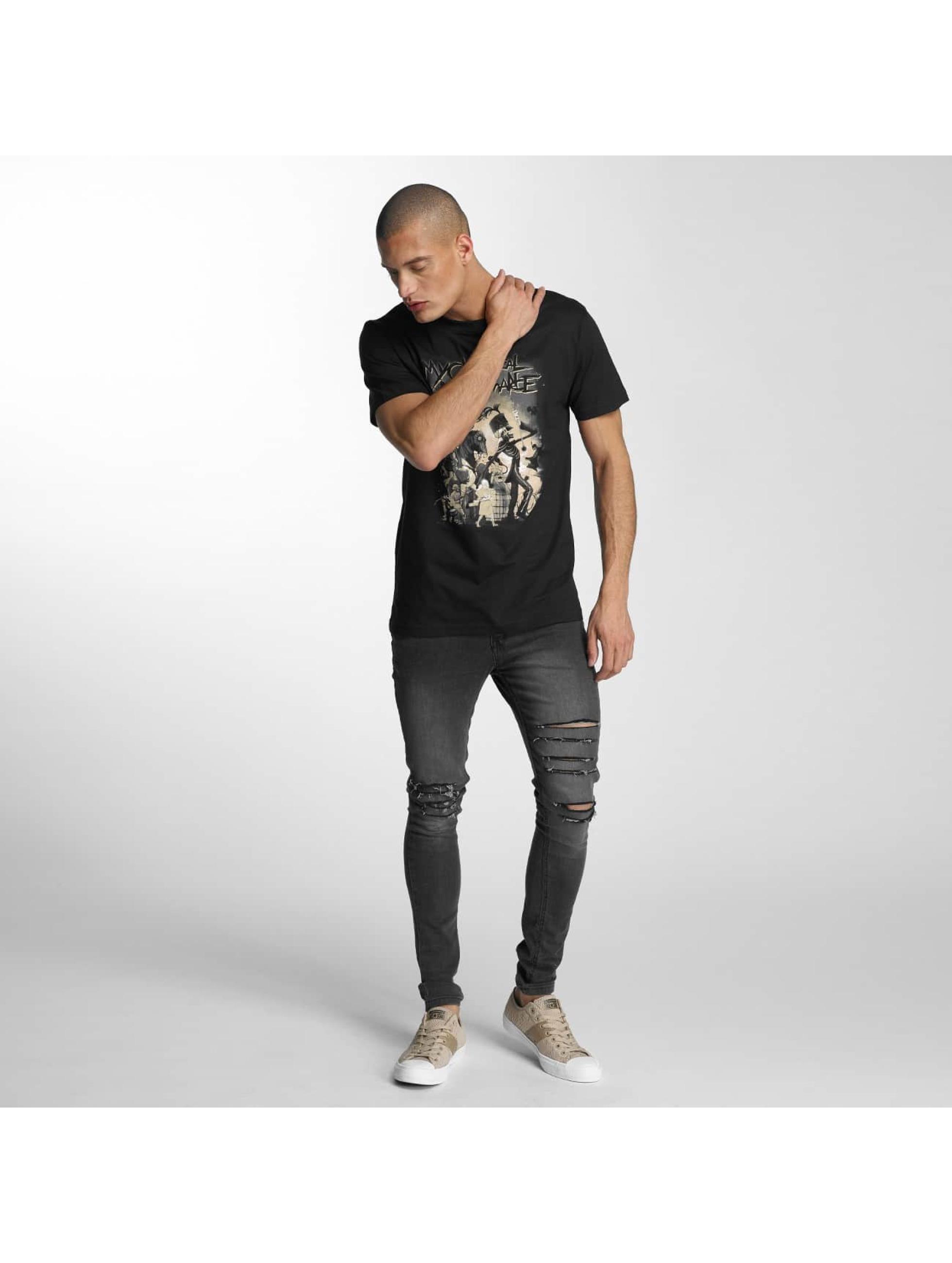 Merchcode T-Shirt My Chemical Romance On Parade schwarz