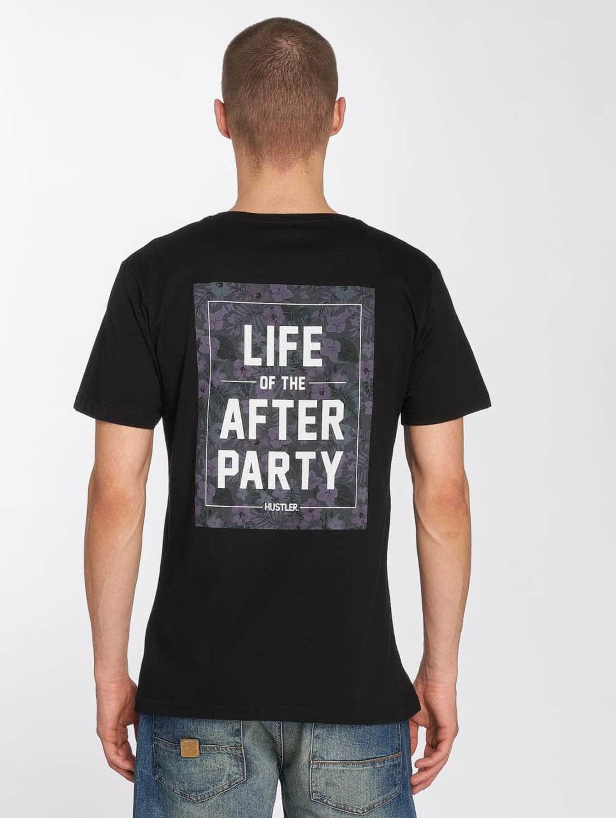 Merchcode T-Shirt Hustler Afterparty schwarz