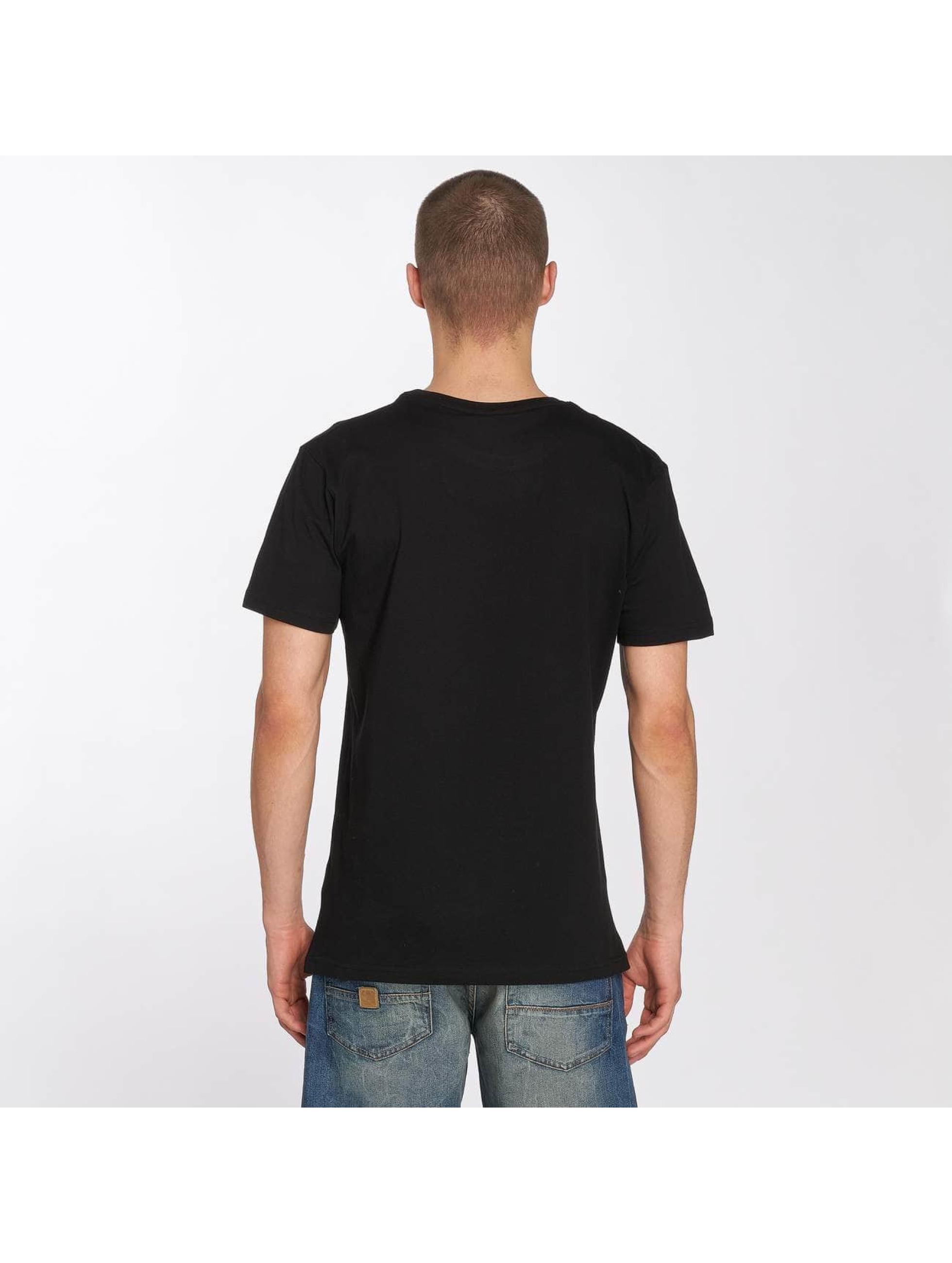 Merchcode T-Shirt Hustler Embroidery schwarz