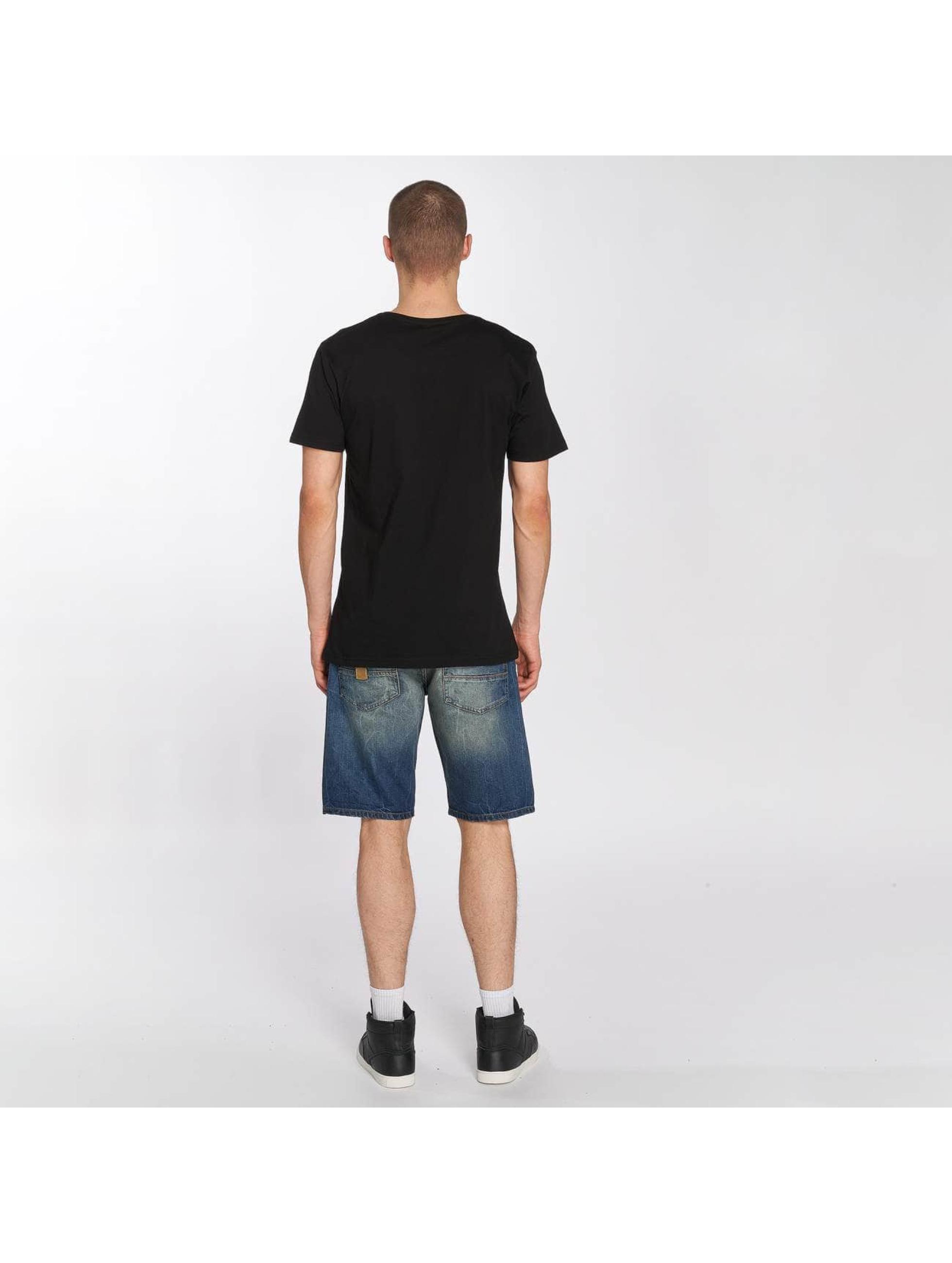 Merchcode T-Shirt Korn Logo schwarz