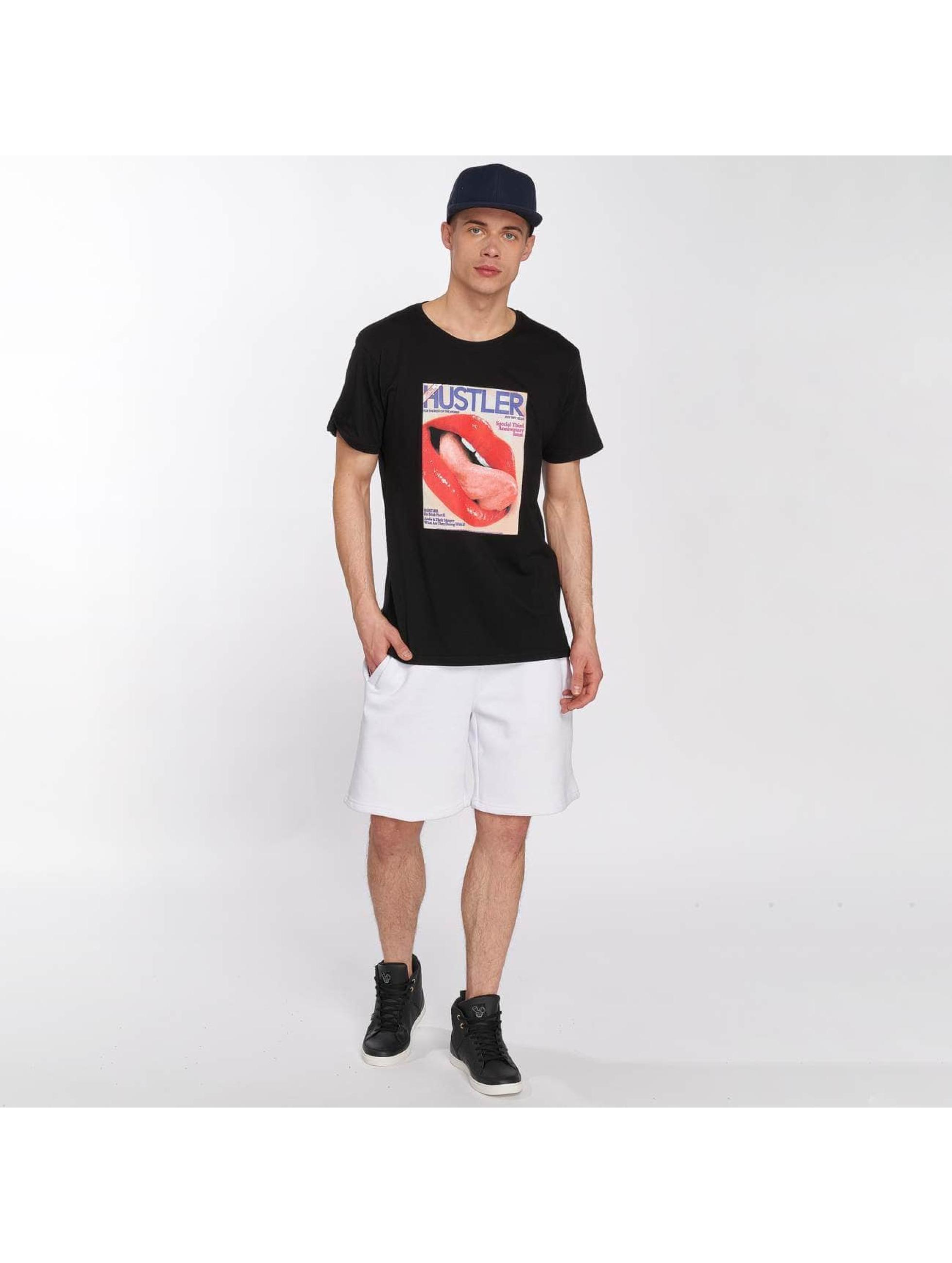 Merchcode T-shirt Hustler Tongue svart