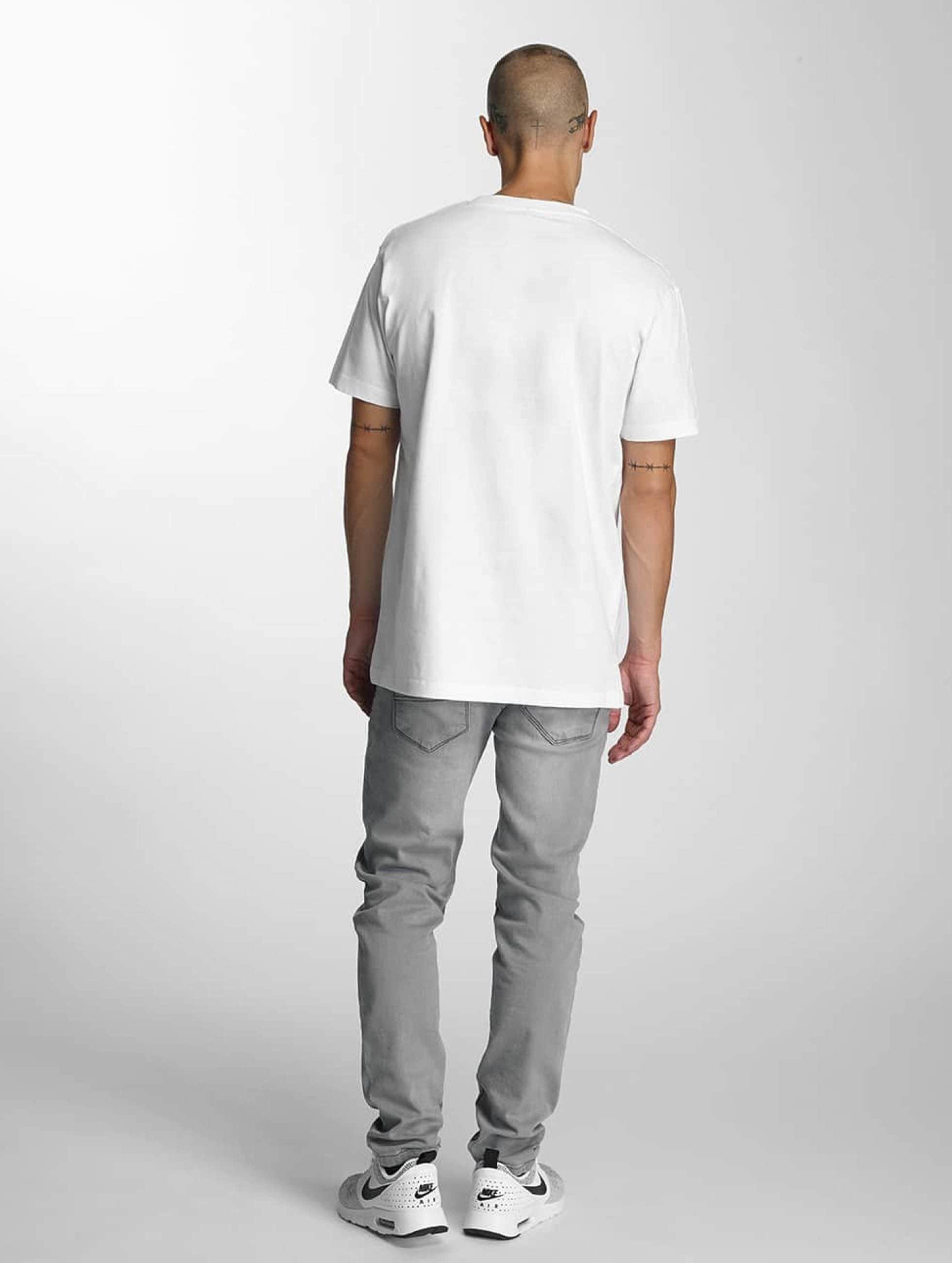 Merchcode T-Shirt Banksy Spy Rat weiß