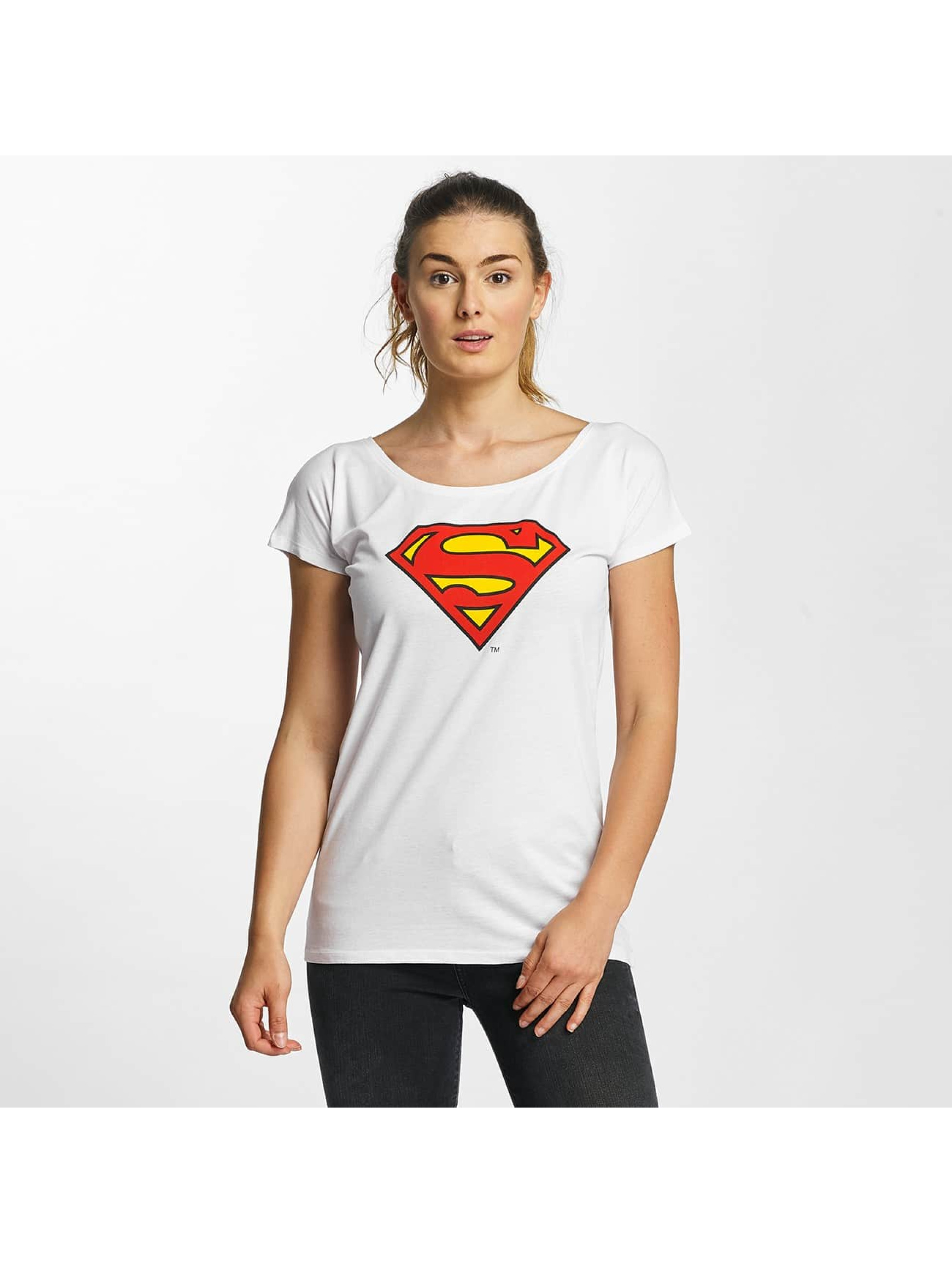 Merchcode T-Shirt Superman Logo white