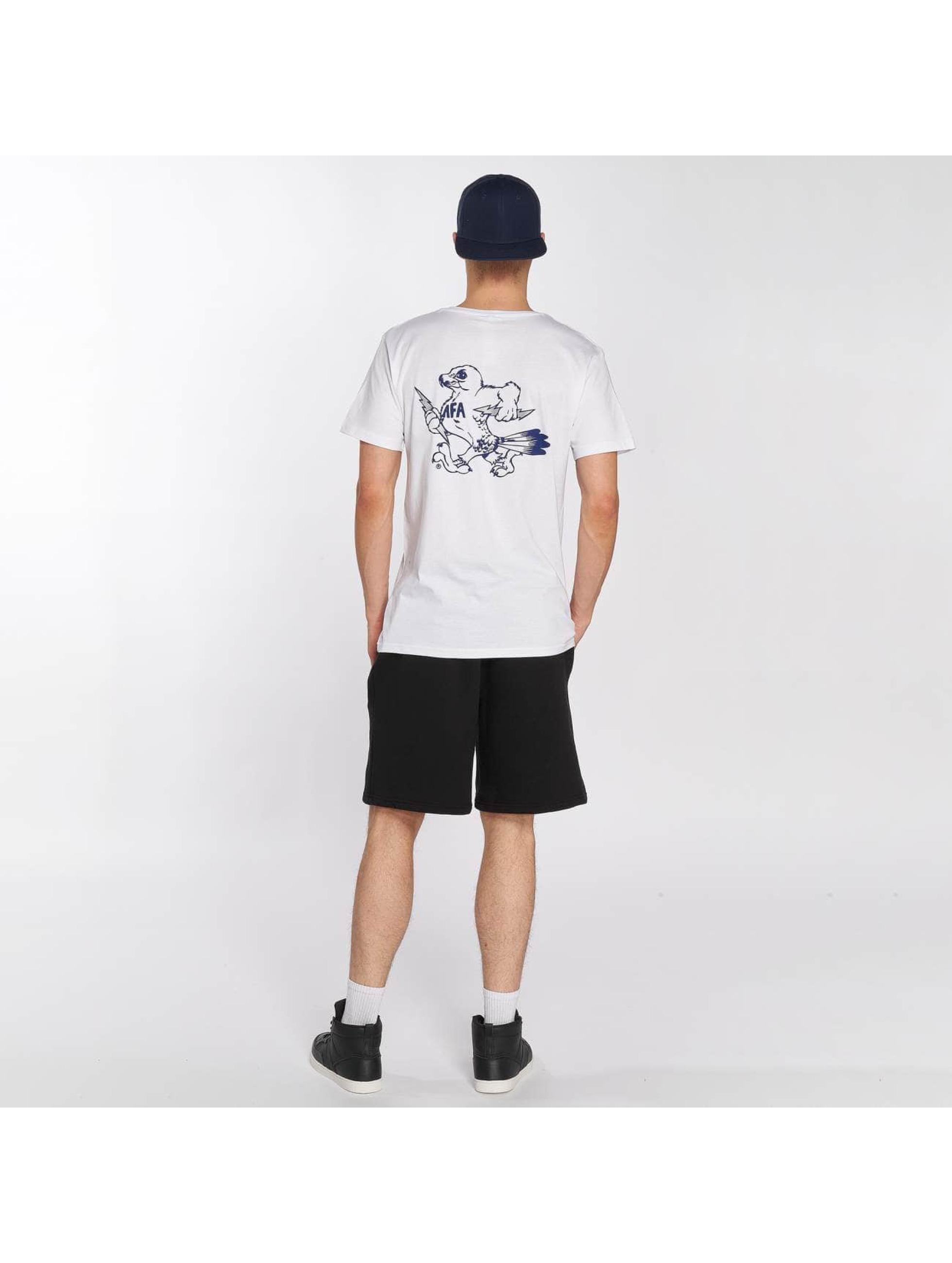 Merchcode T-Shirt Air Force Bird white