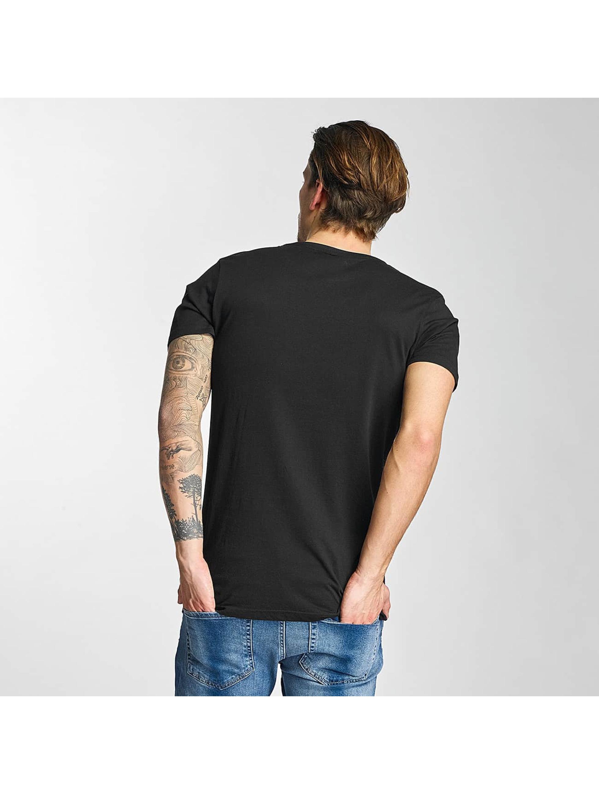 Merchcode t-shirt ACDC Stiff zwart