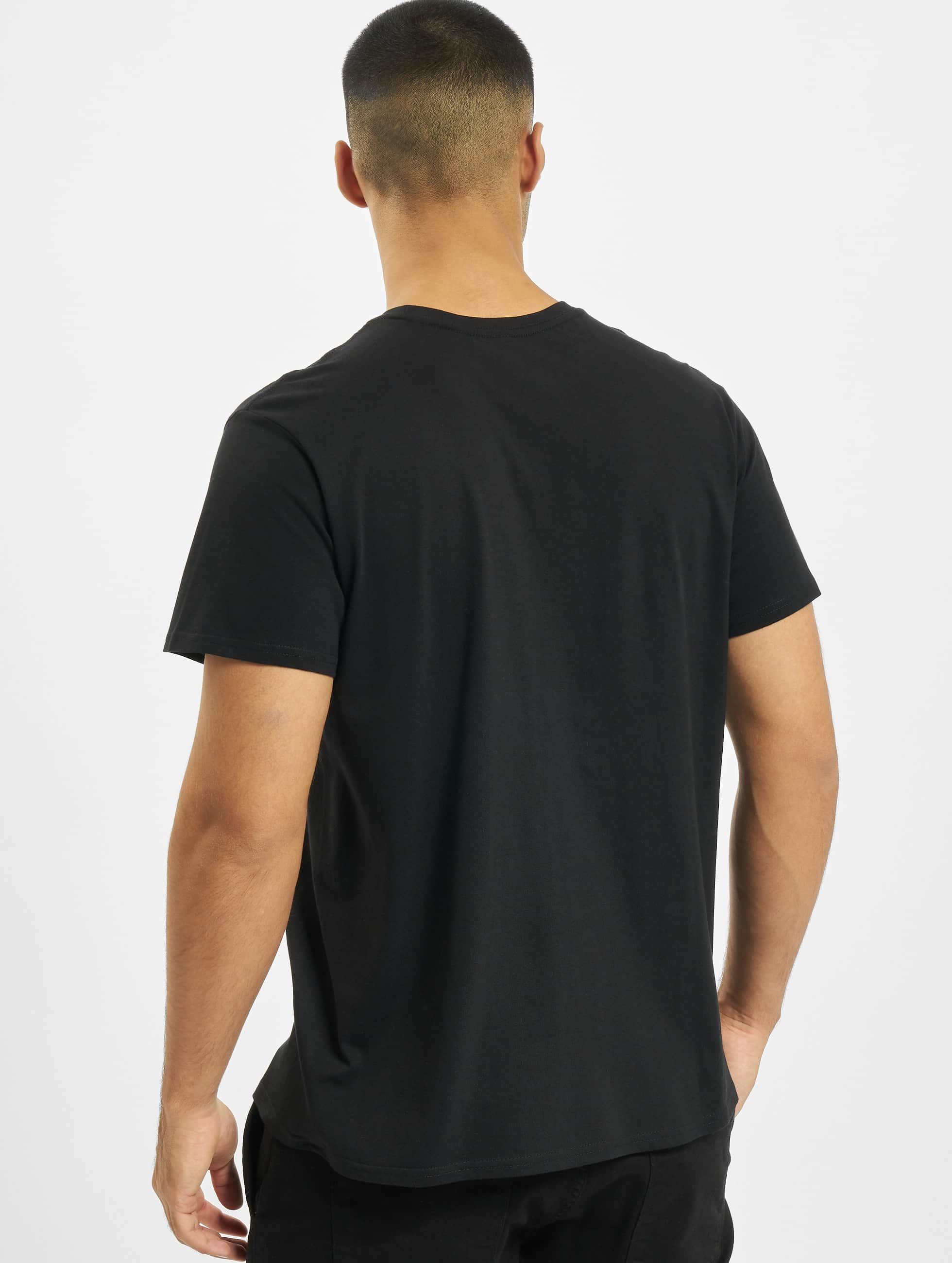 Merchcode t-shirt Banksy Butterfly zwart