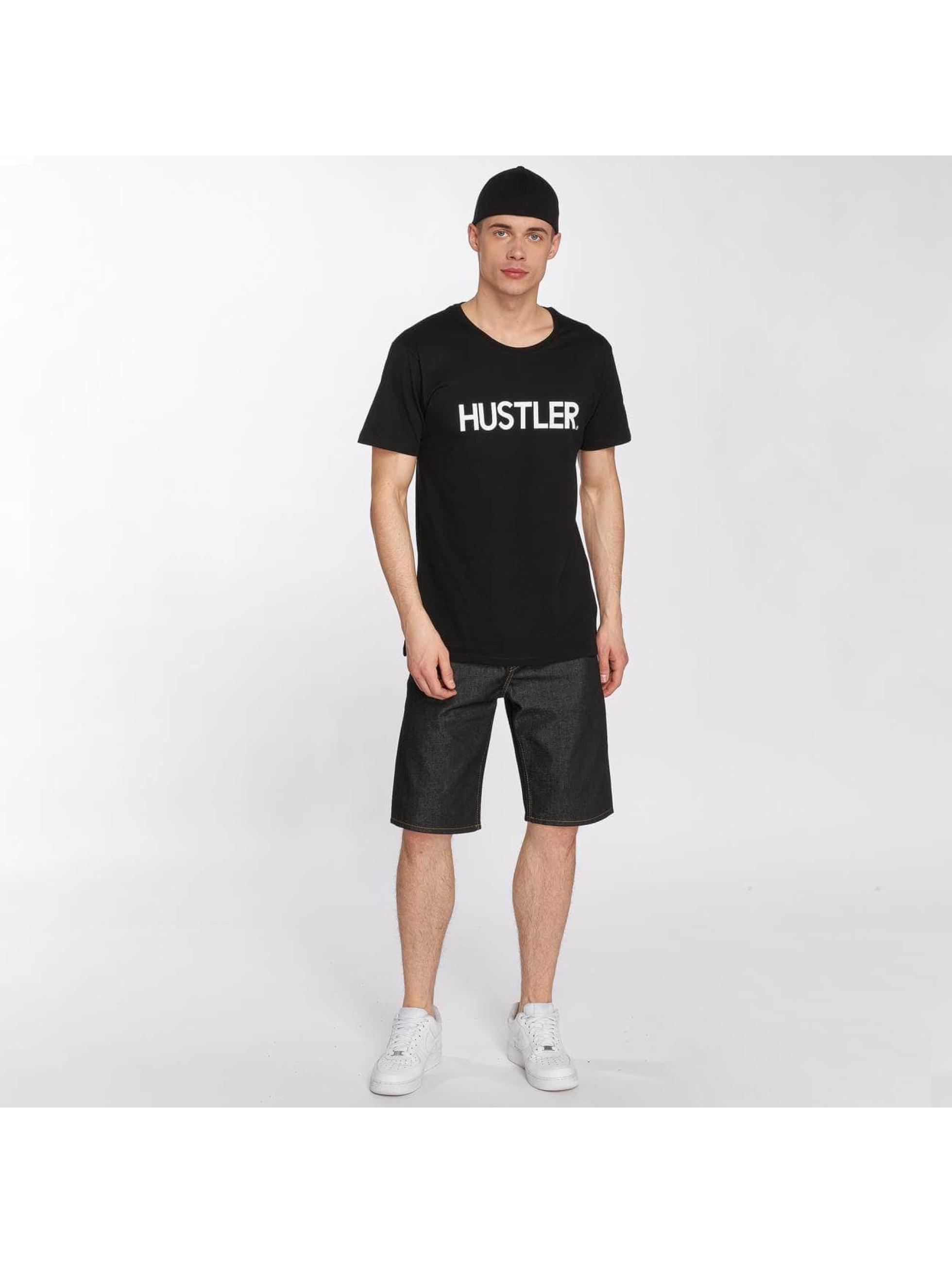 Merchcode t-shirt Hustler Definition zwart
