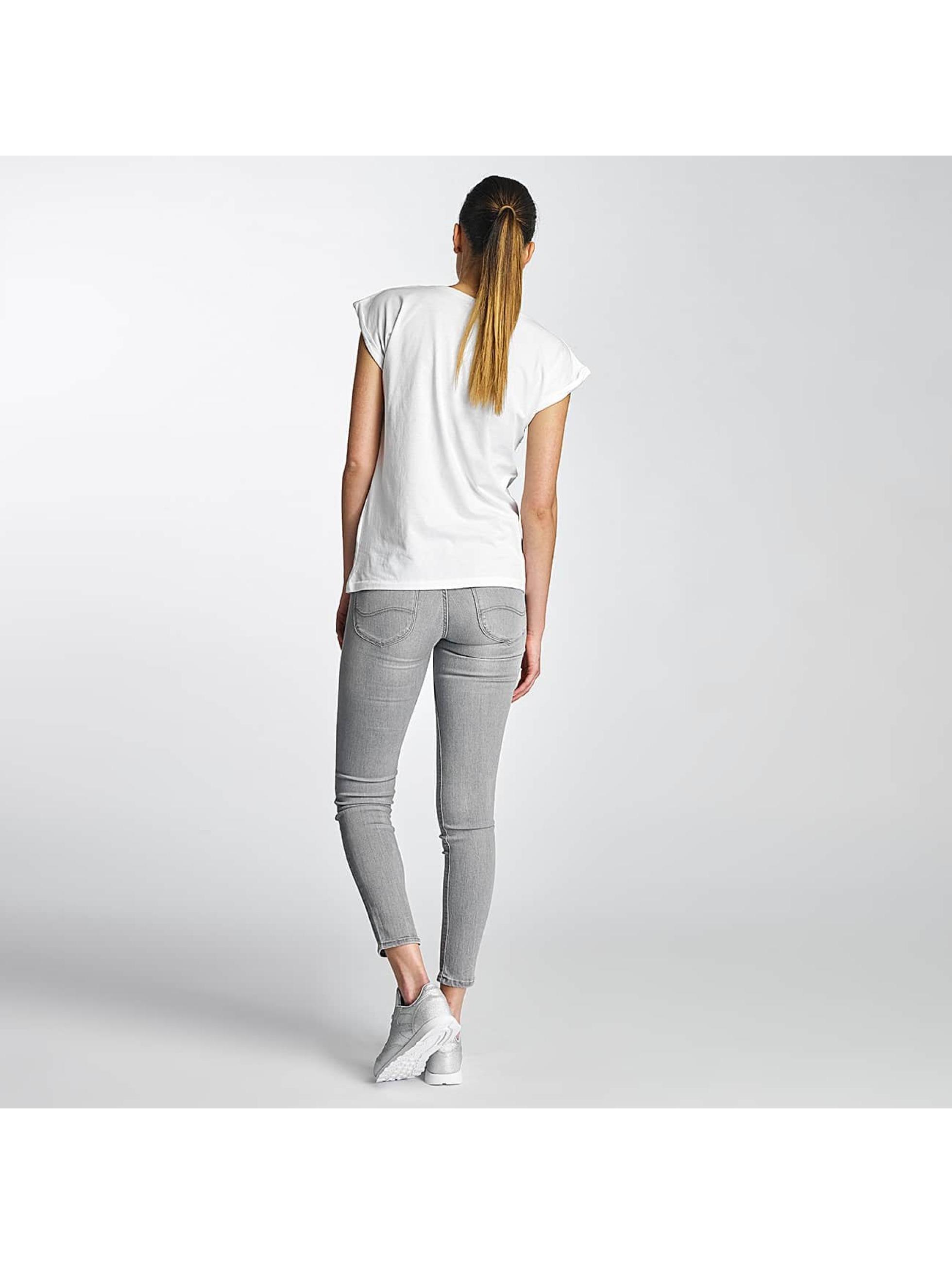 Merchcode T-shirts Lady Gaga Hat hvid