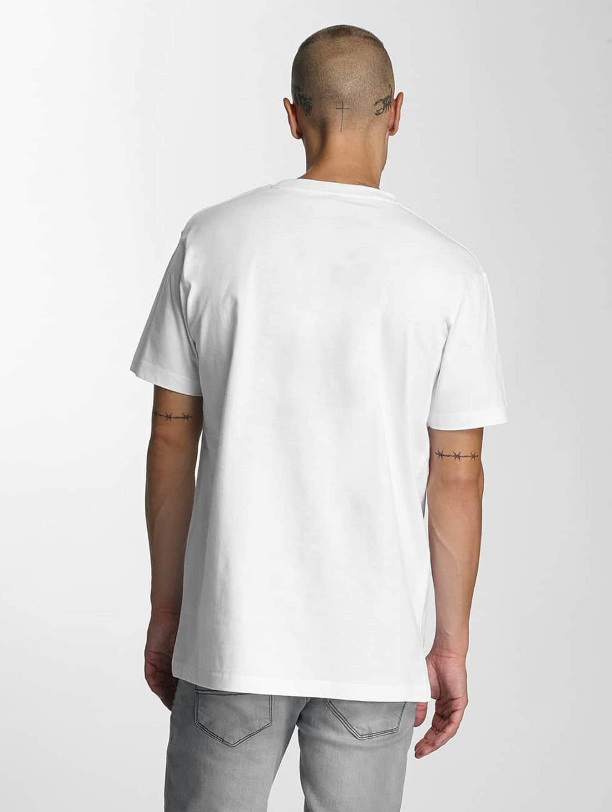 Merchcode T-shirts Banksy Spy Rat hvid