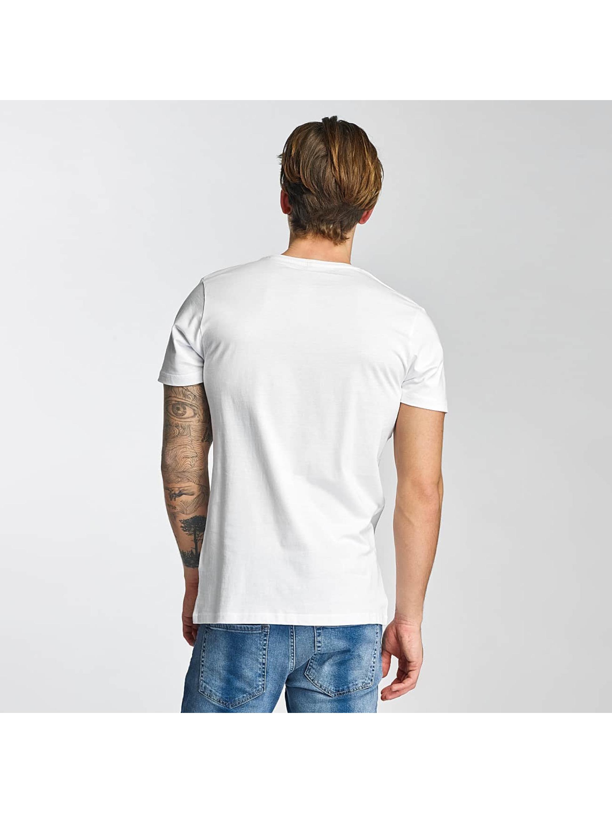 Merchcode T-Shirty Swedish House Mafia Logo bialy