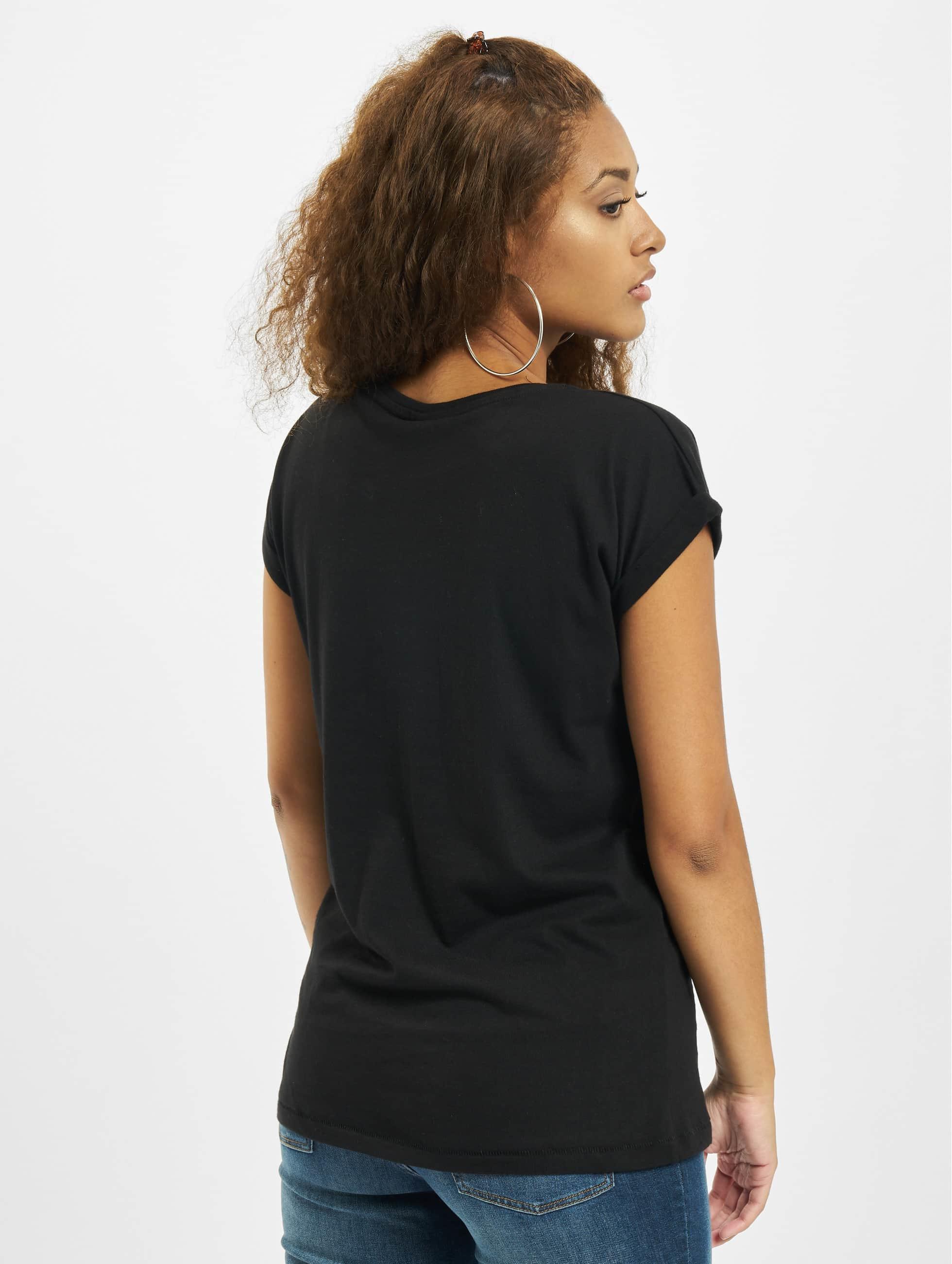 Merchcode T-Shirty Ladies Joy Divison UP czarny