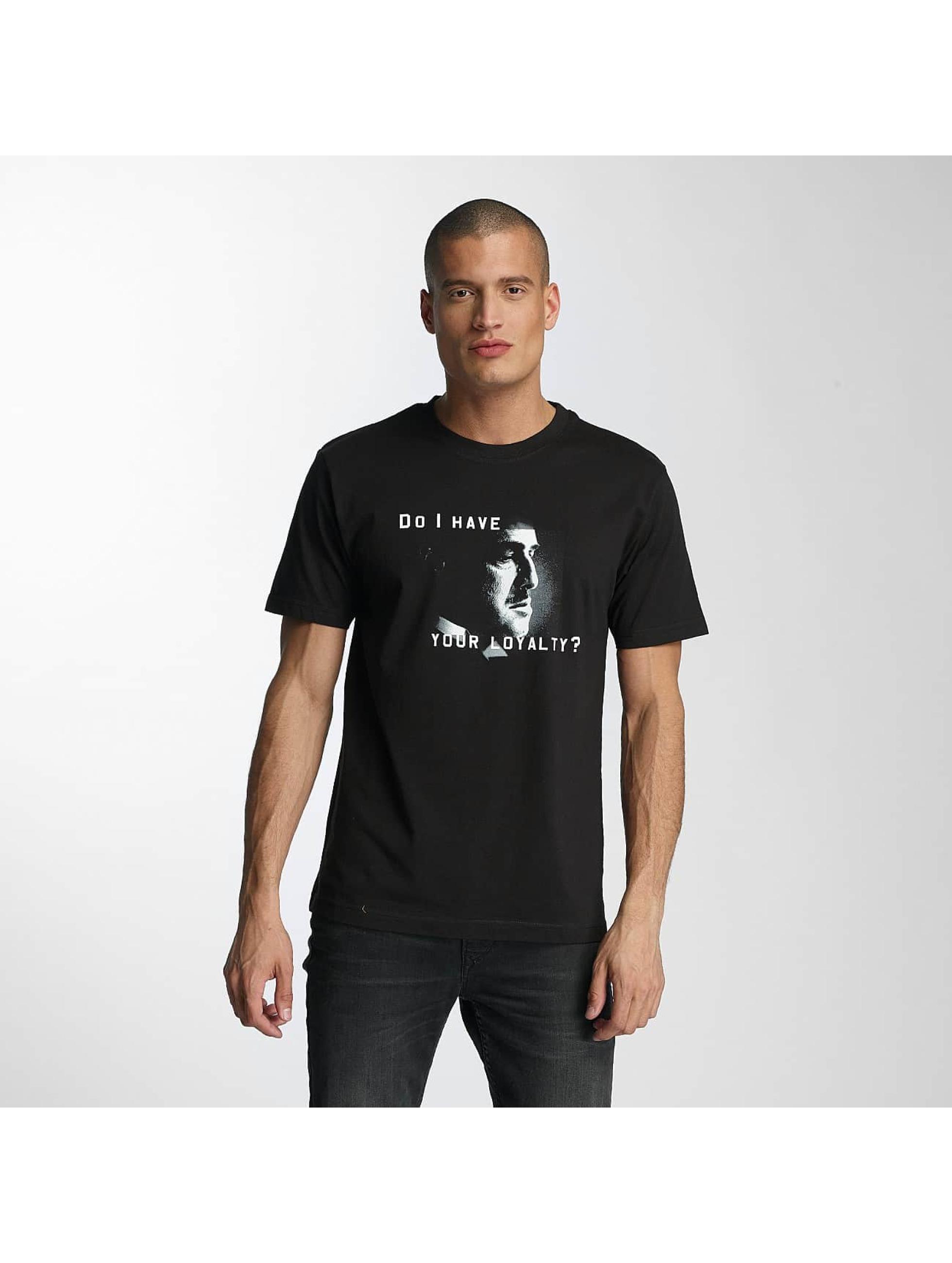 Merchcode T-Shirty Godfather Loyalty czarny