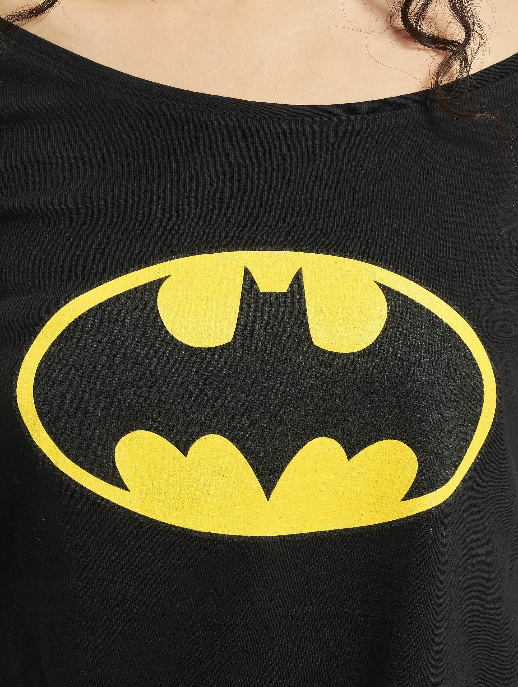 Merchcode T-Shirty Batman Logo czarny
