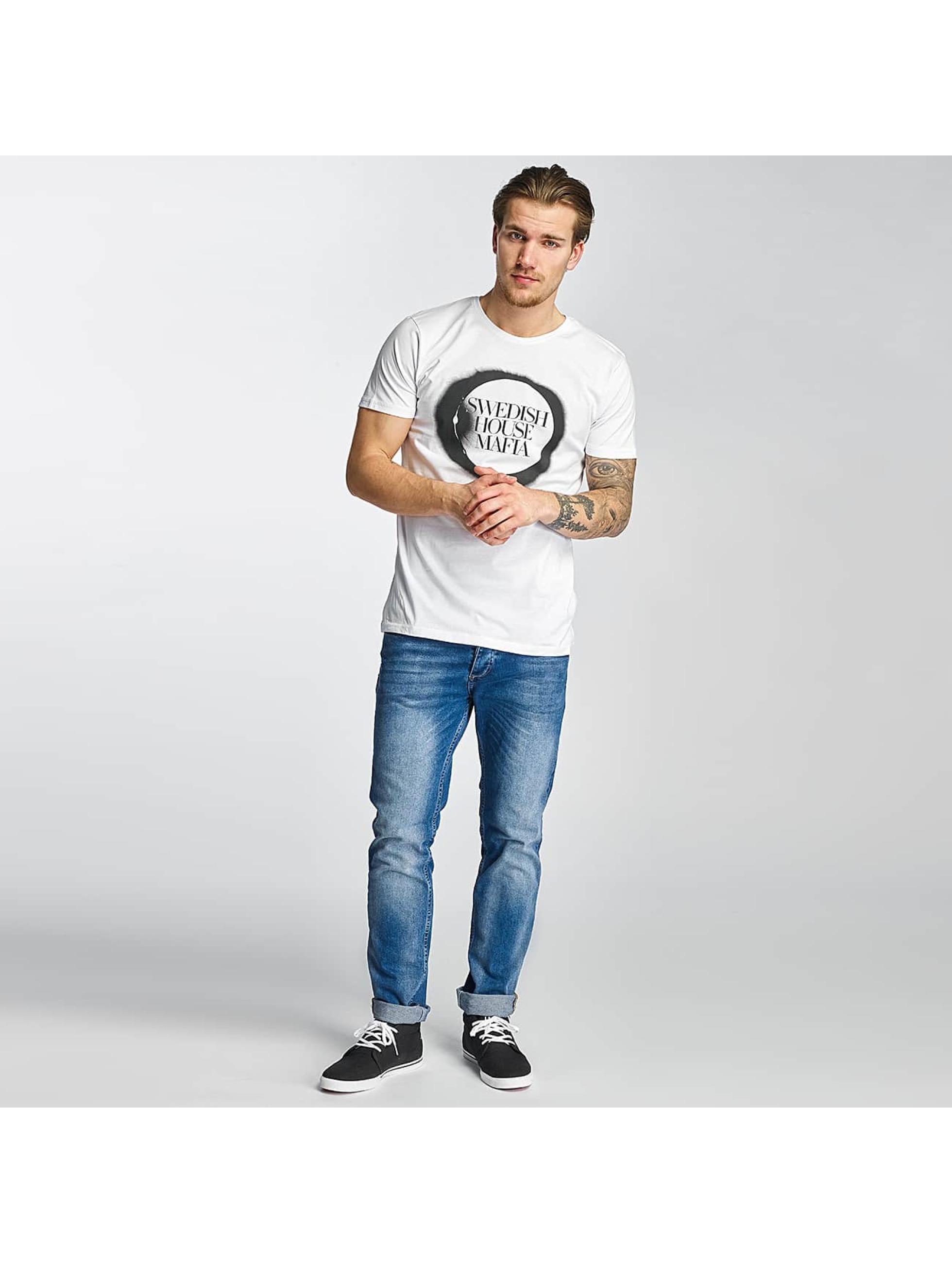 Merchcode T-skjorter Swedish House Mafia Logo hvit