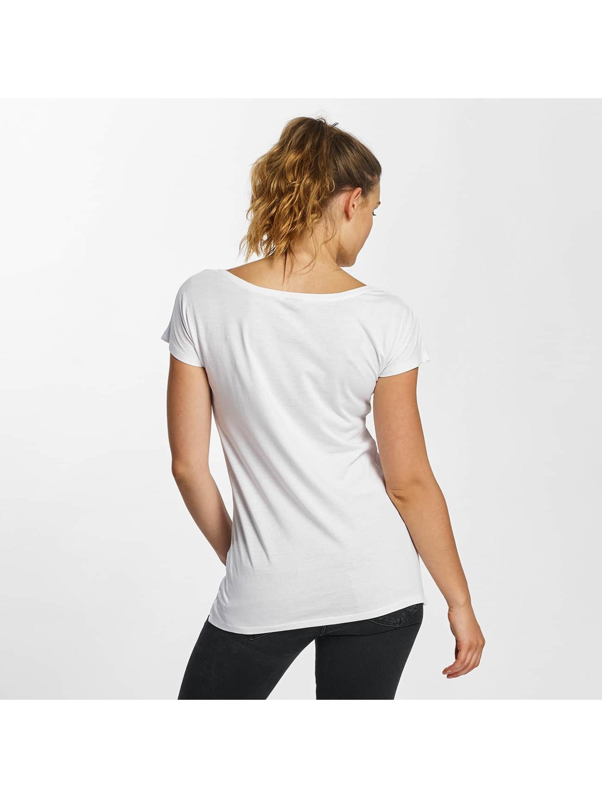 Merchcode T-skjorter Superman Logo hvit