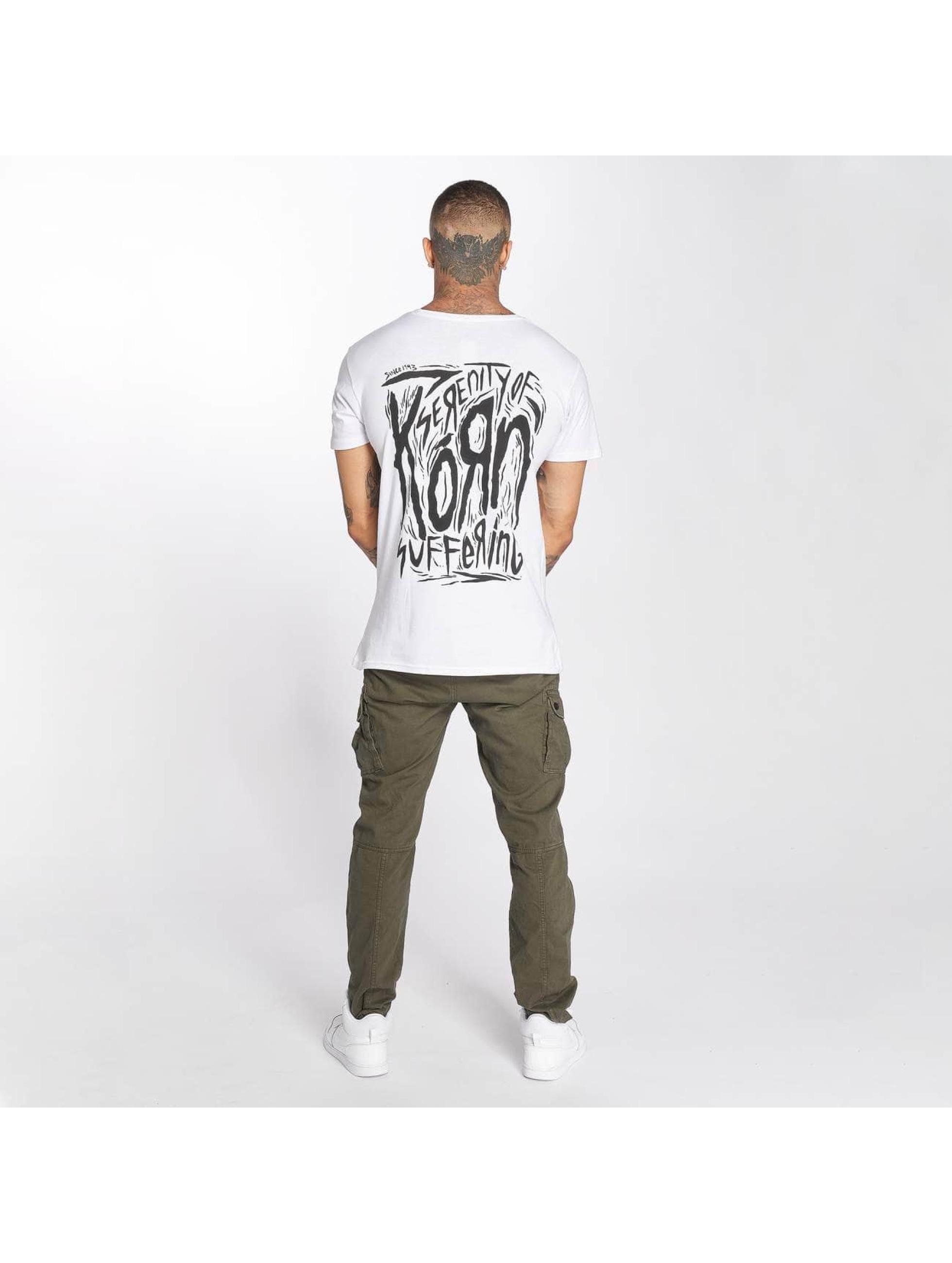 Merchcode T-skjorter Korn Suffering hvit
