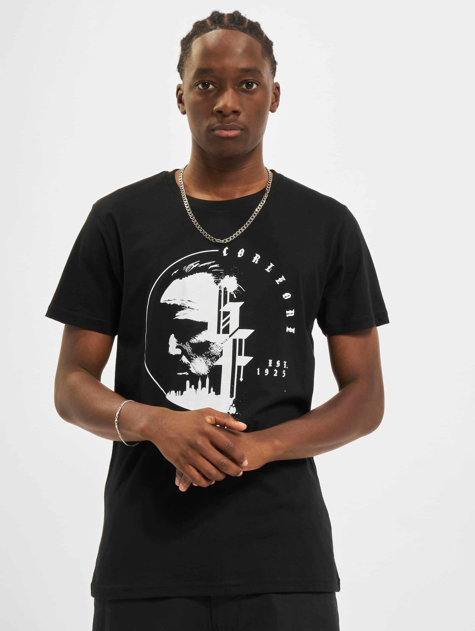 Merchcode T-skjorter Godfather Circle svart