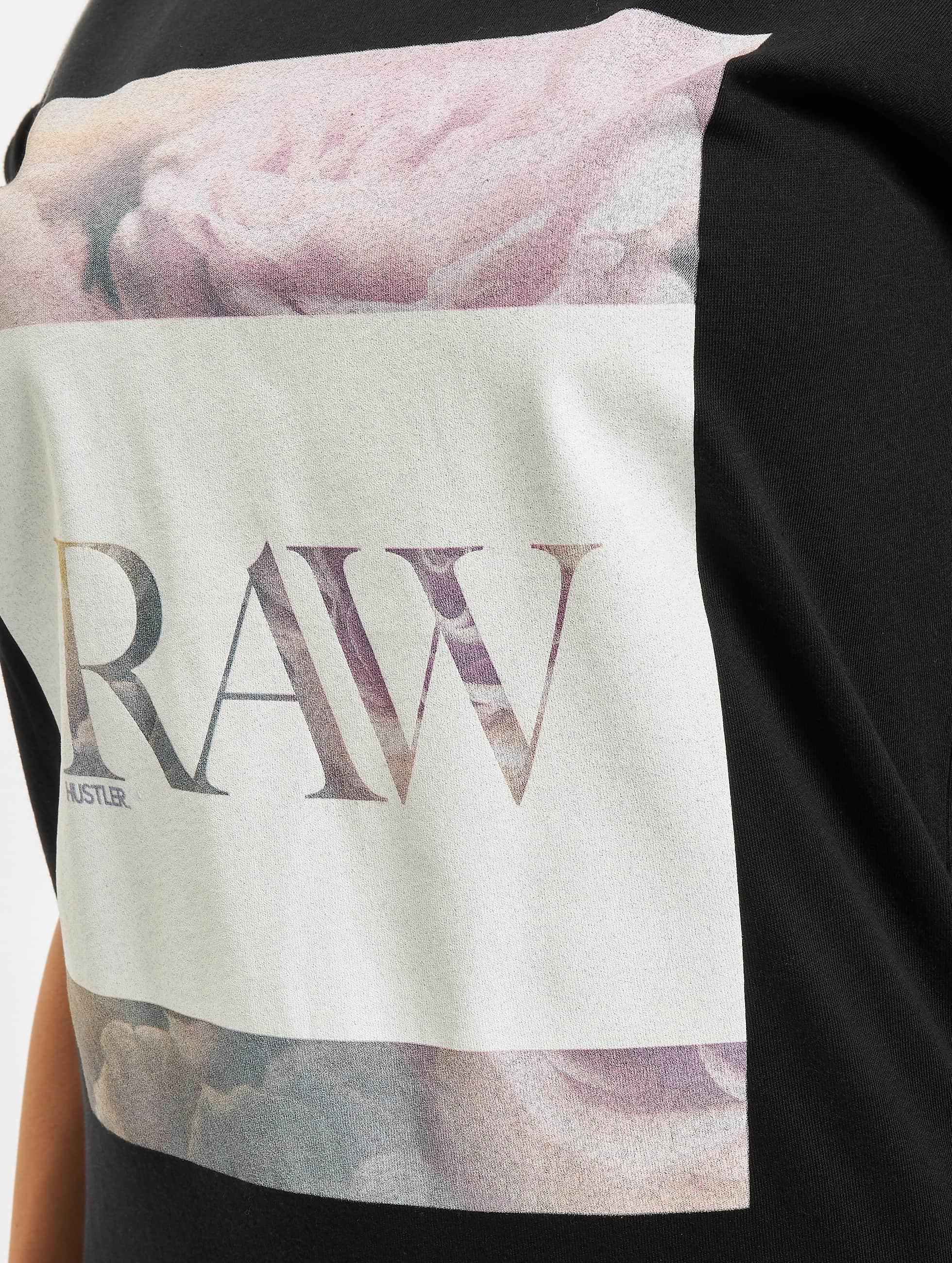 Merchcode T-skjorter Hustler Raw svart