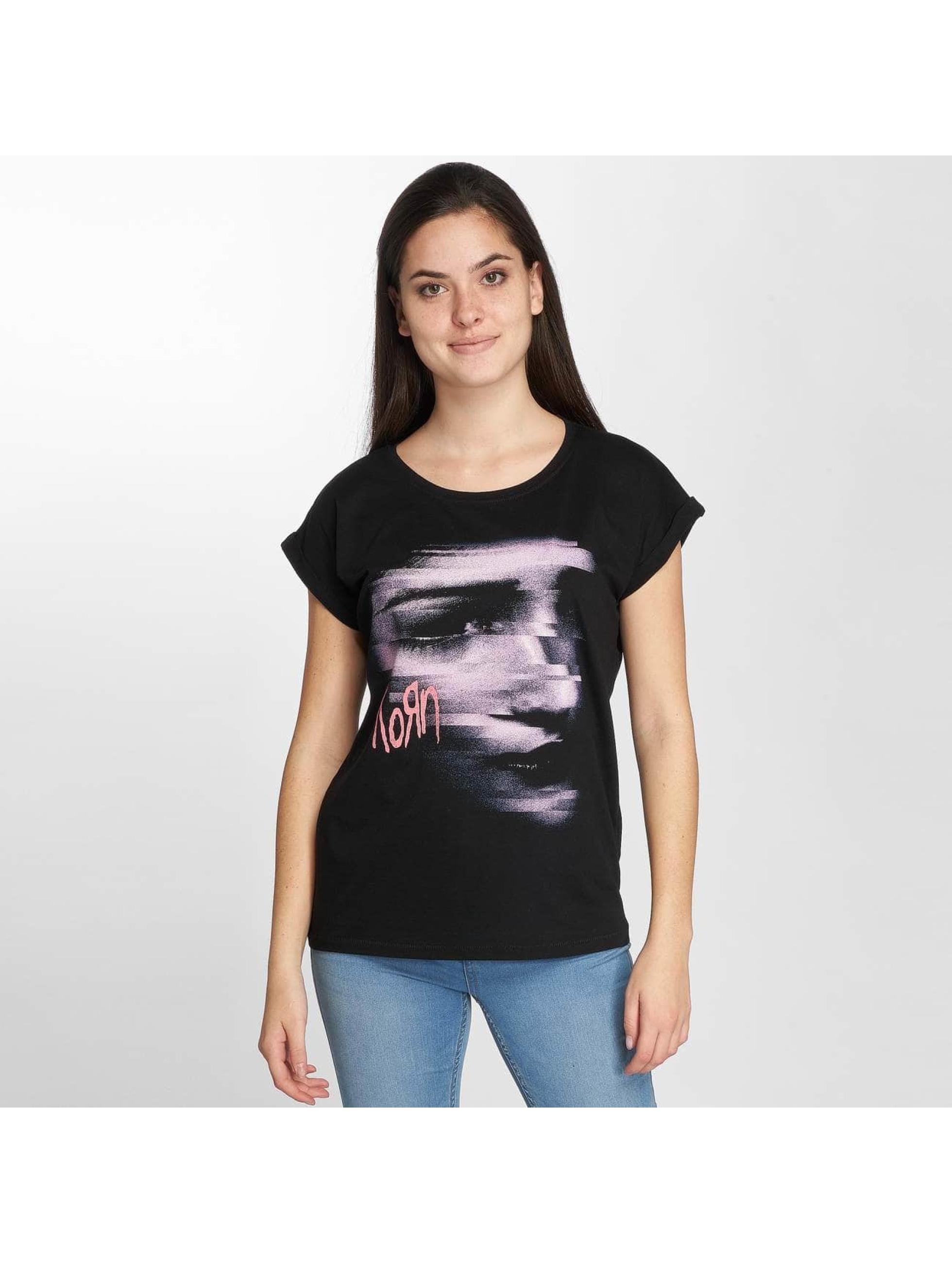 Merchcode T-skjorter Korn Face svart