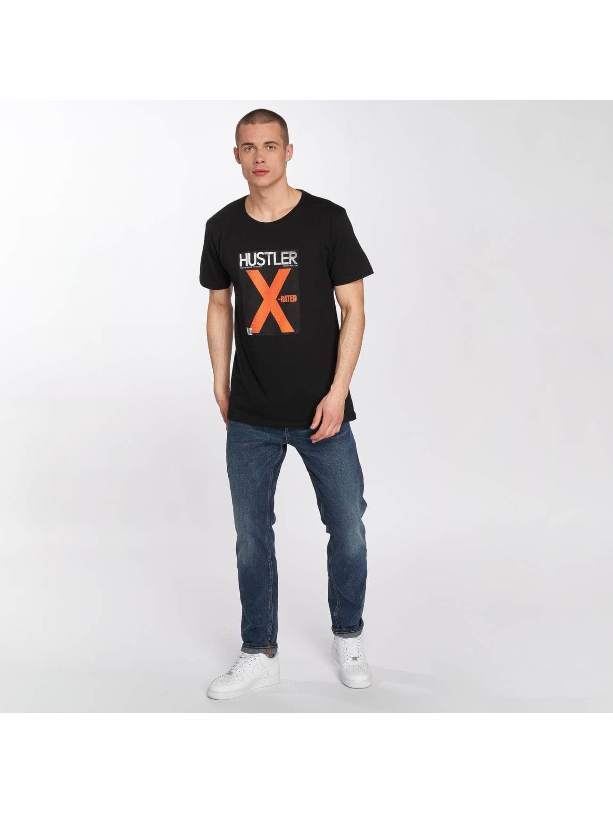 Merchcode Tričká Hustler X-Rated èierna