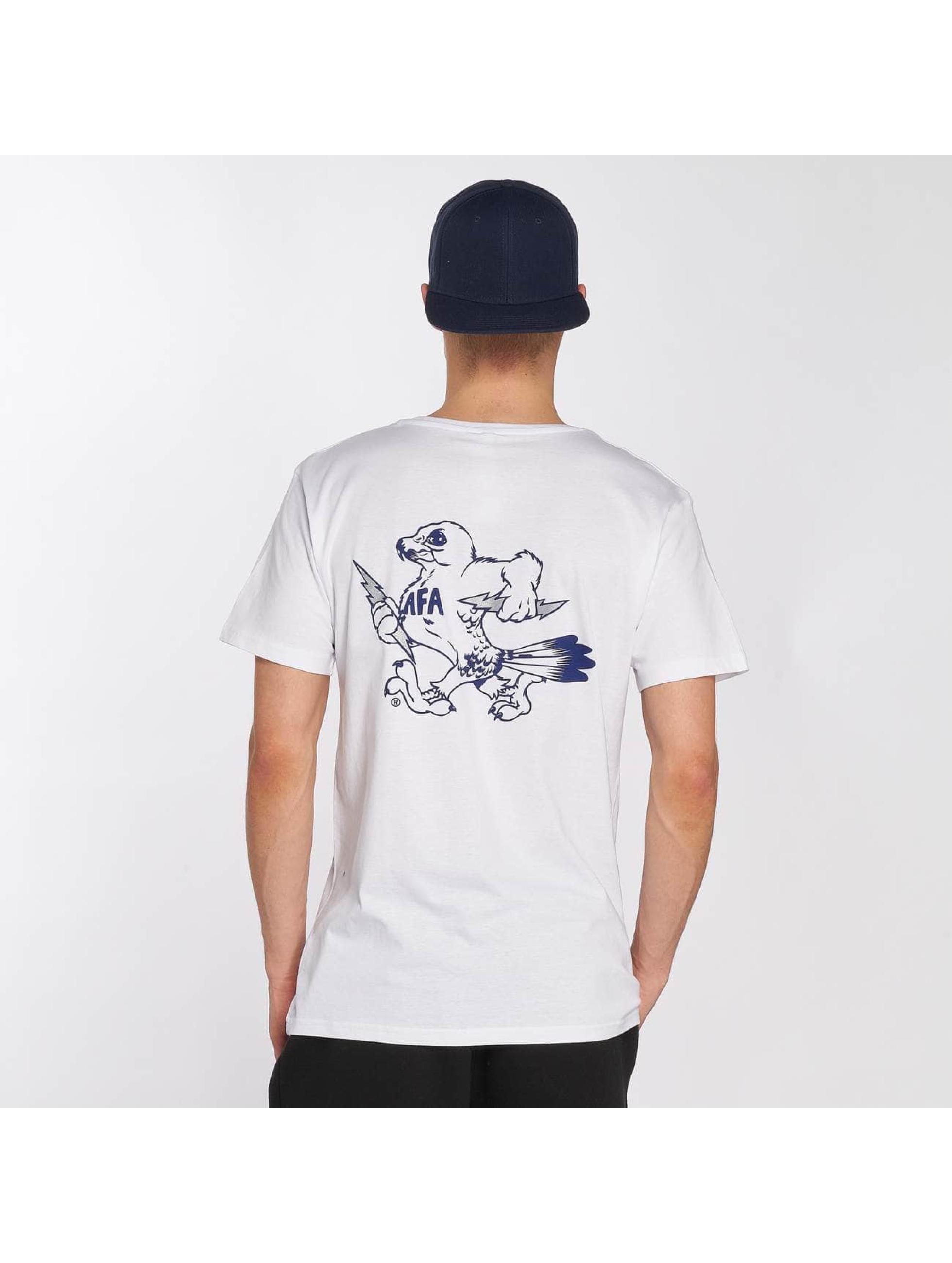 Merchcode Tričká Air Force Bird biela