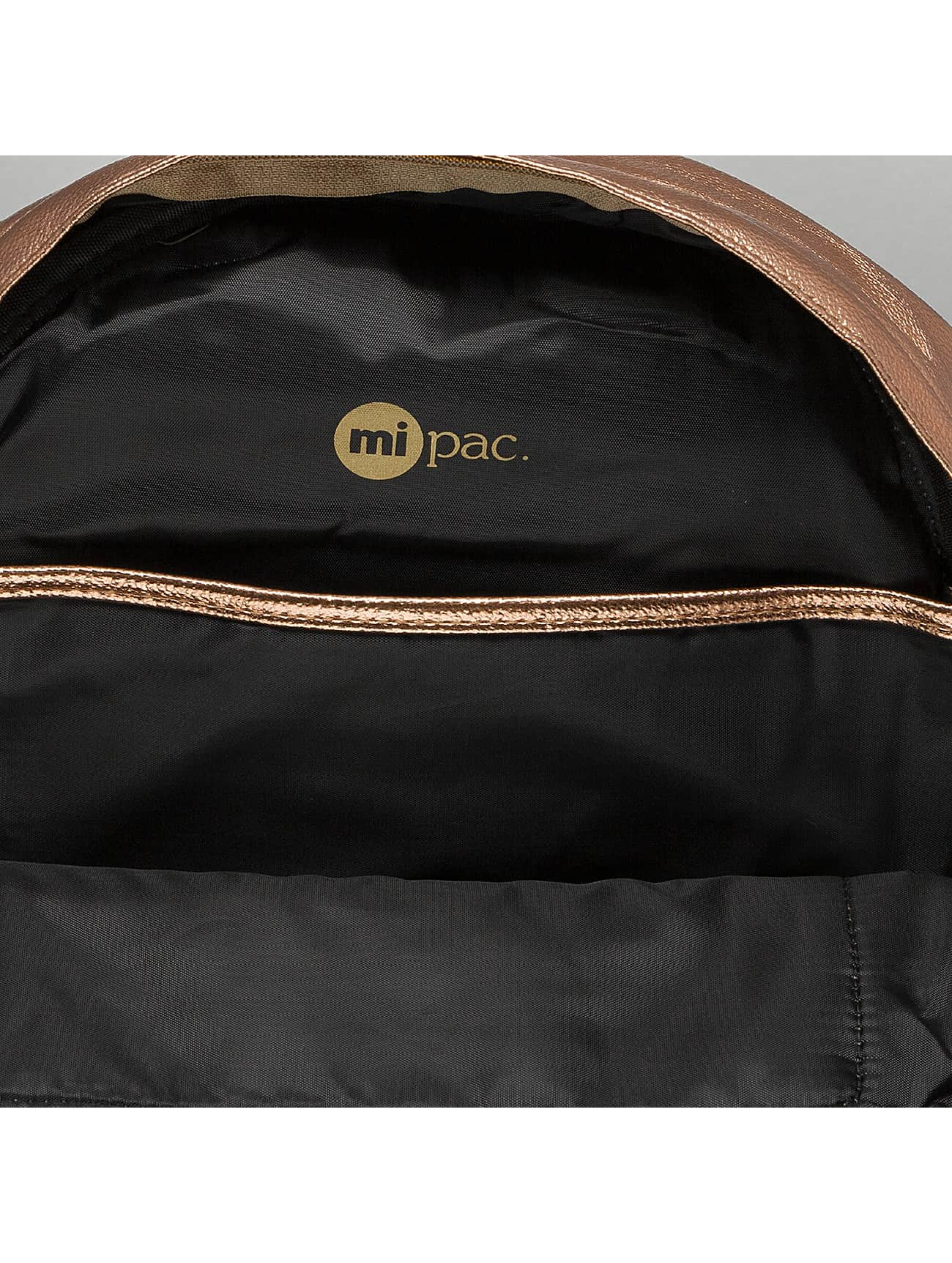 Mi-Pac Backpack Metallic gold colored