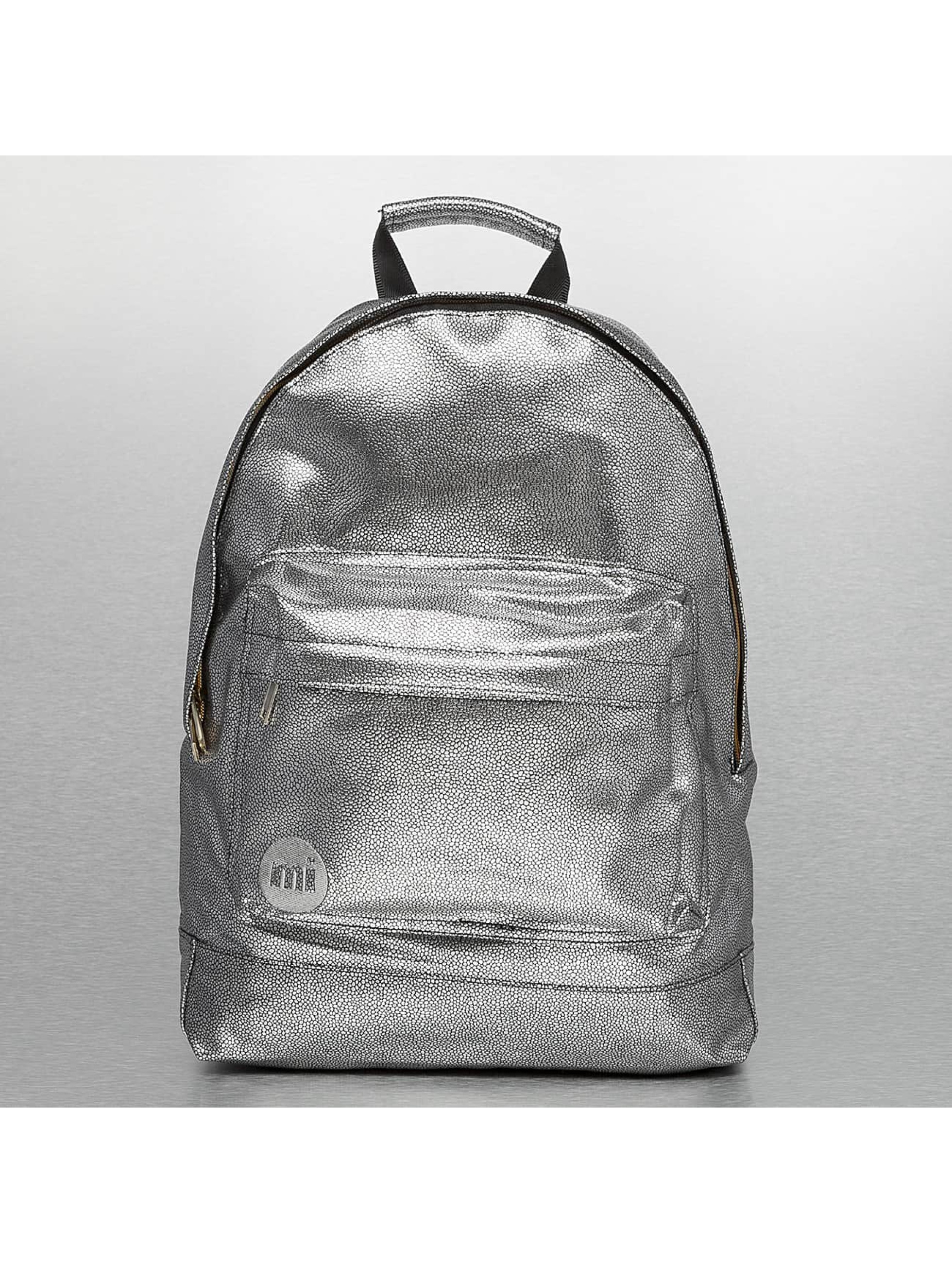 Mi-Pac Backpack Golden silver colored