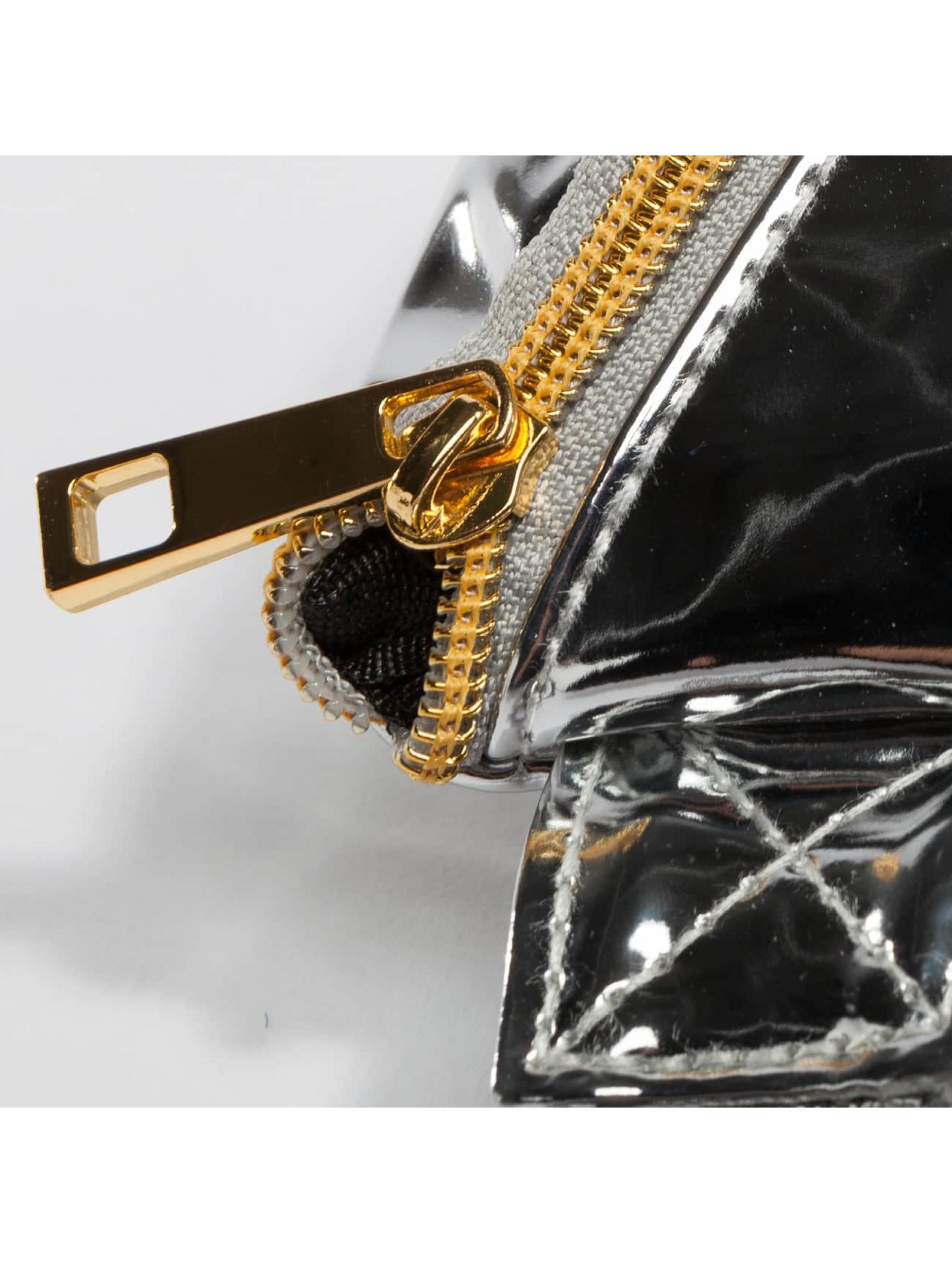Mi-Pac Bag Slim Bum Bag silver colored