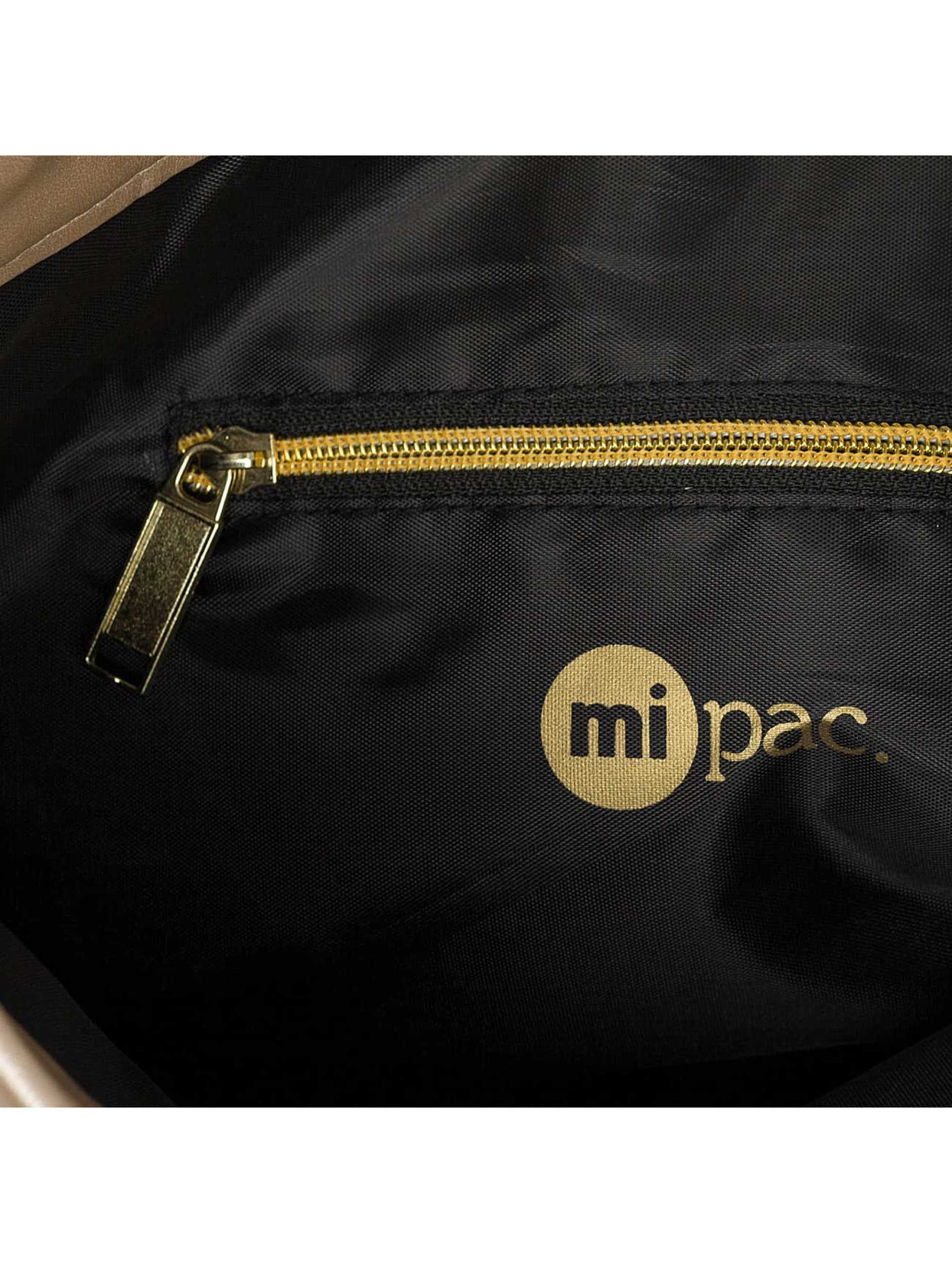 Mi-Pac Pouch Metallic gold colored