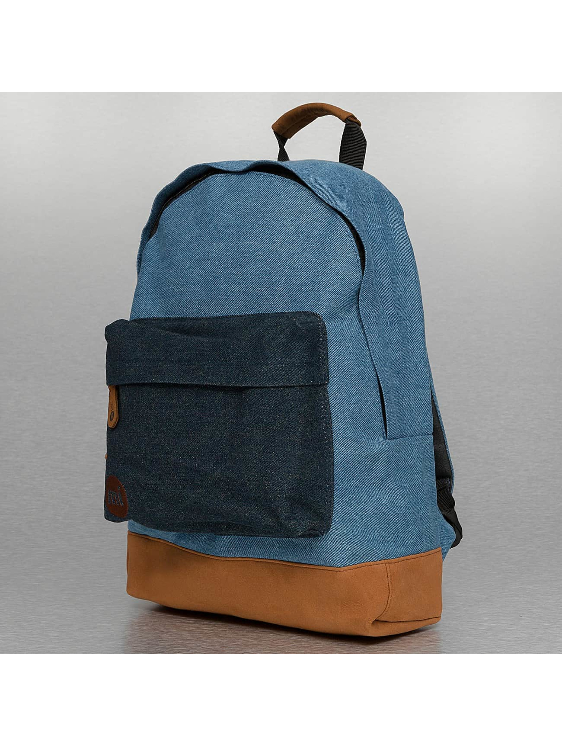 Mi-Pac Rucksack Denim Patch Premium blau