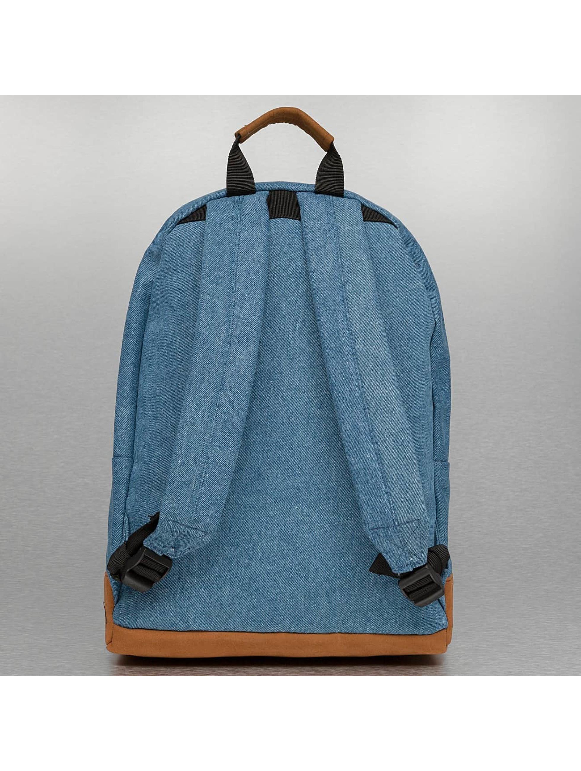 Mi-Pac rugzak Denim Patch Premium blauw