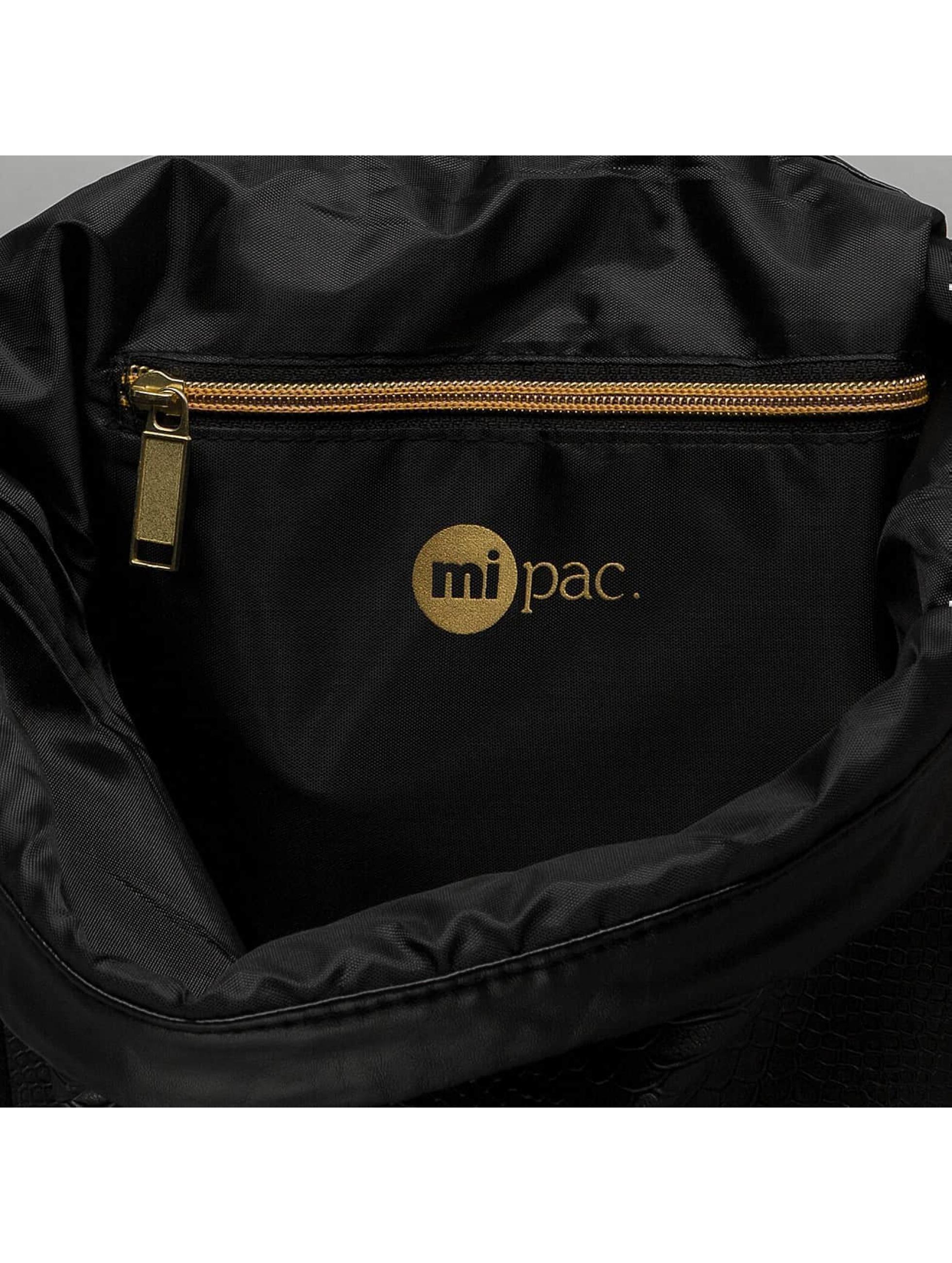 Mi-Pac Sac à cordons en Kit noir