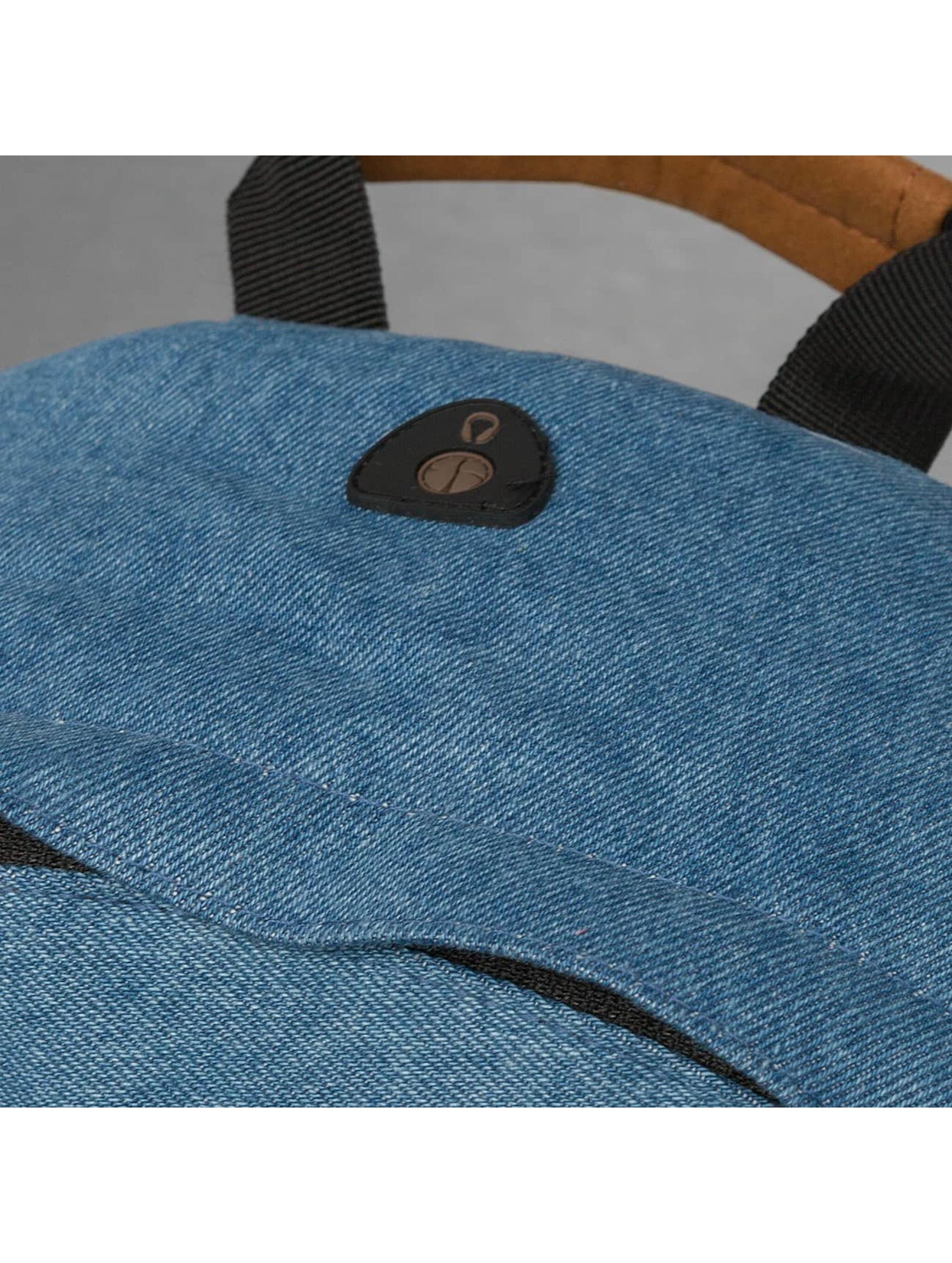 Mi-Pac Sac à Dos Denim Patch Premium bleu