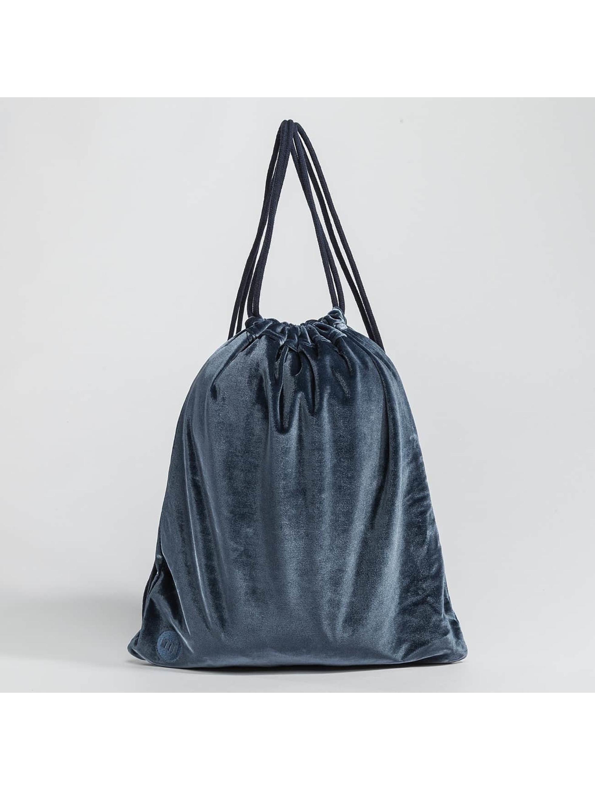 Mi-Pac shopper Velvet - blauw